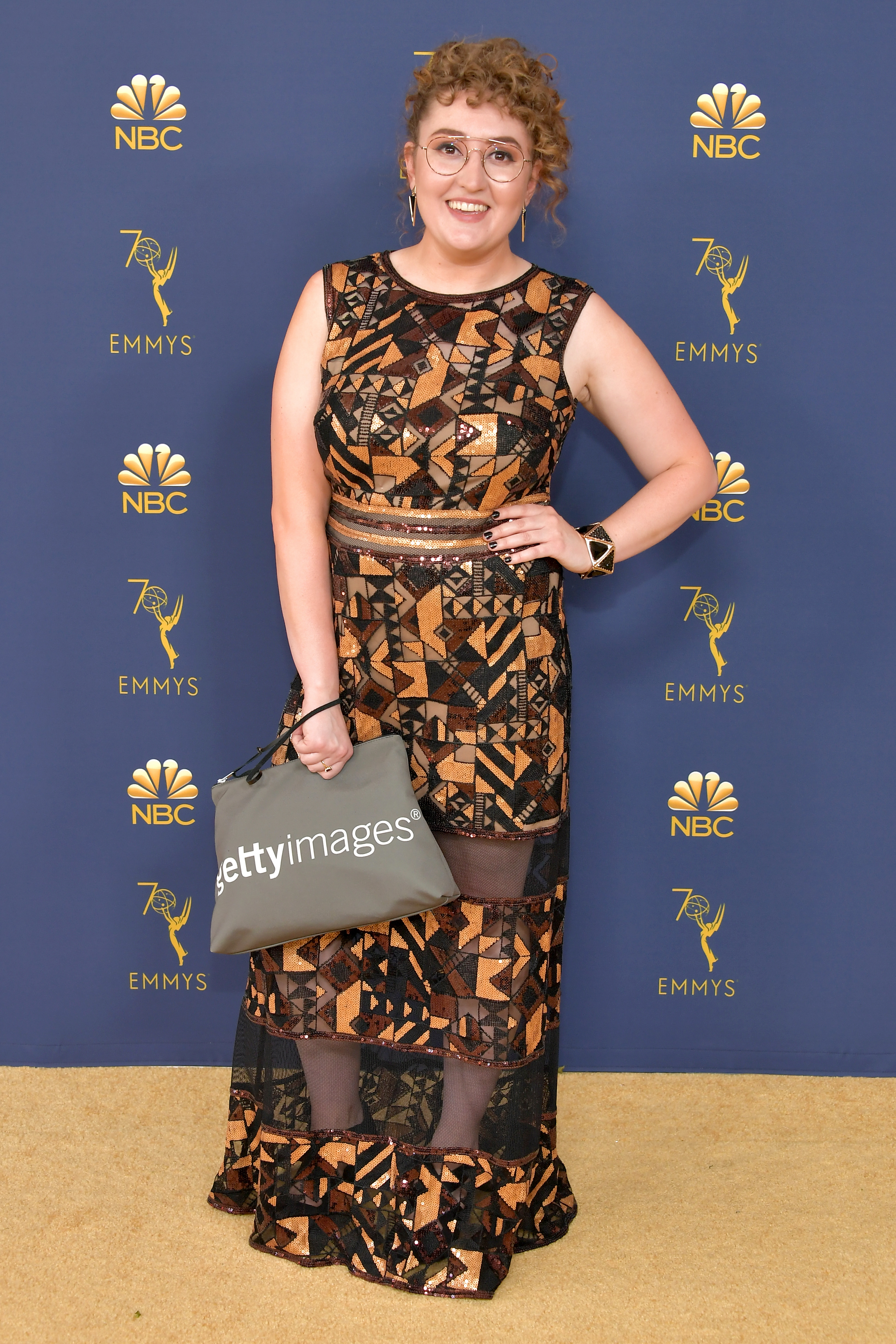 Emily Heller attends the 70th Emmy Awards at Microsoft Theater on September 17, 2018 in Los Angeles, California.
