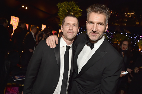 D.B. Weiss (L) and David Benioff attend HBO's Official 2018 Emmy After Party on September 17, 2018 in Los Angeles, California.