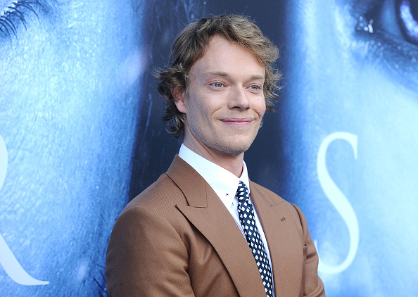 Actor Alfie Allen attends the season 7 premiere of 'Game Of Thrones' at Walt Disney Concert Hall on July 12, 2017 in Los Angeles, California.