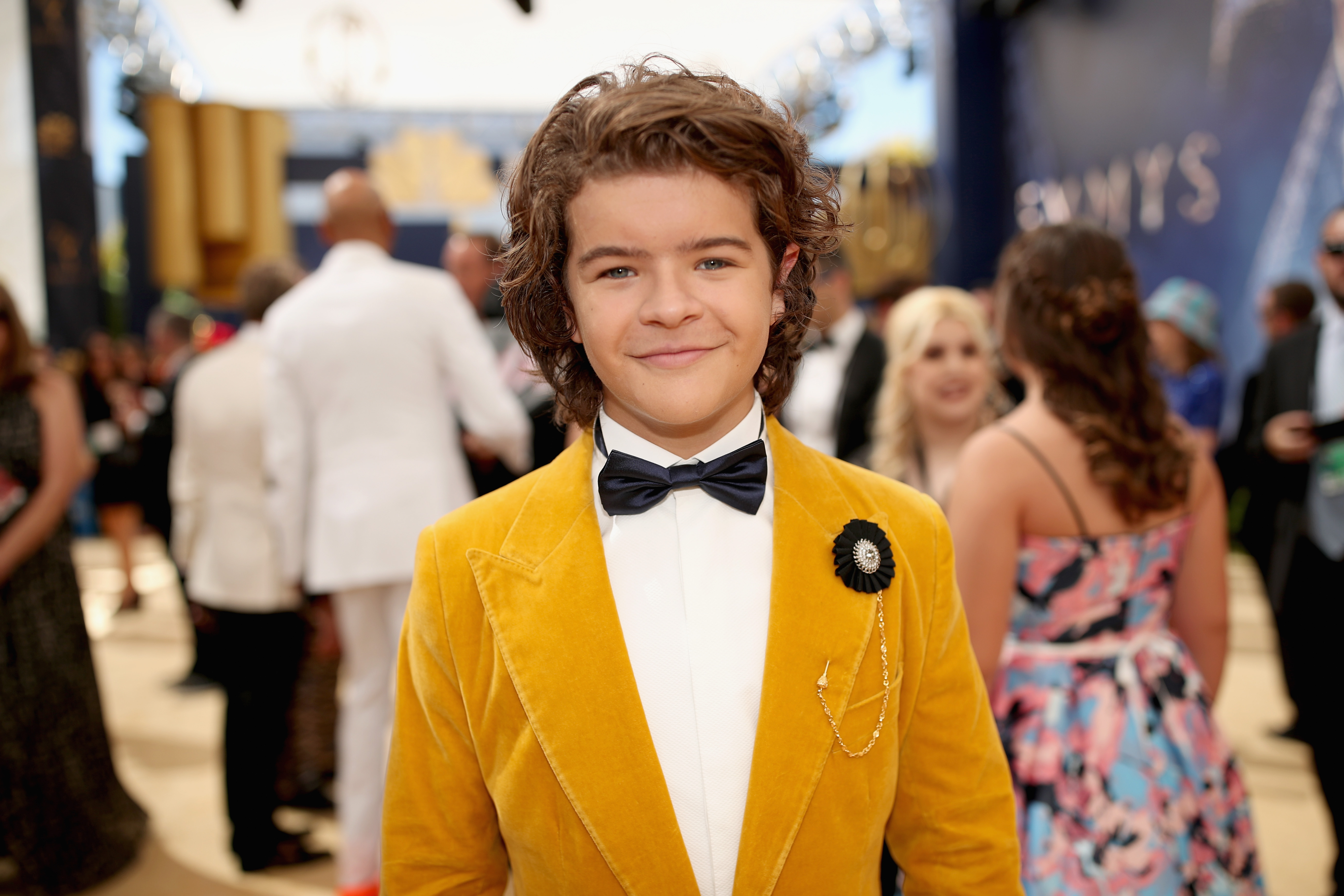 Actor Gaten Matarazzo at the 70th Annual Primetime Emmy Awards on Sept. 17, 2018.