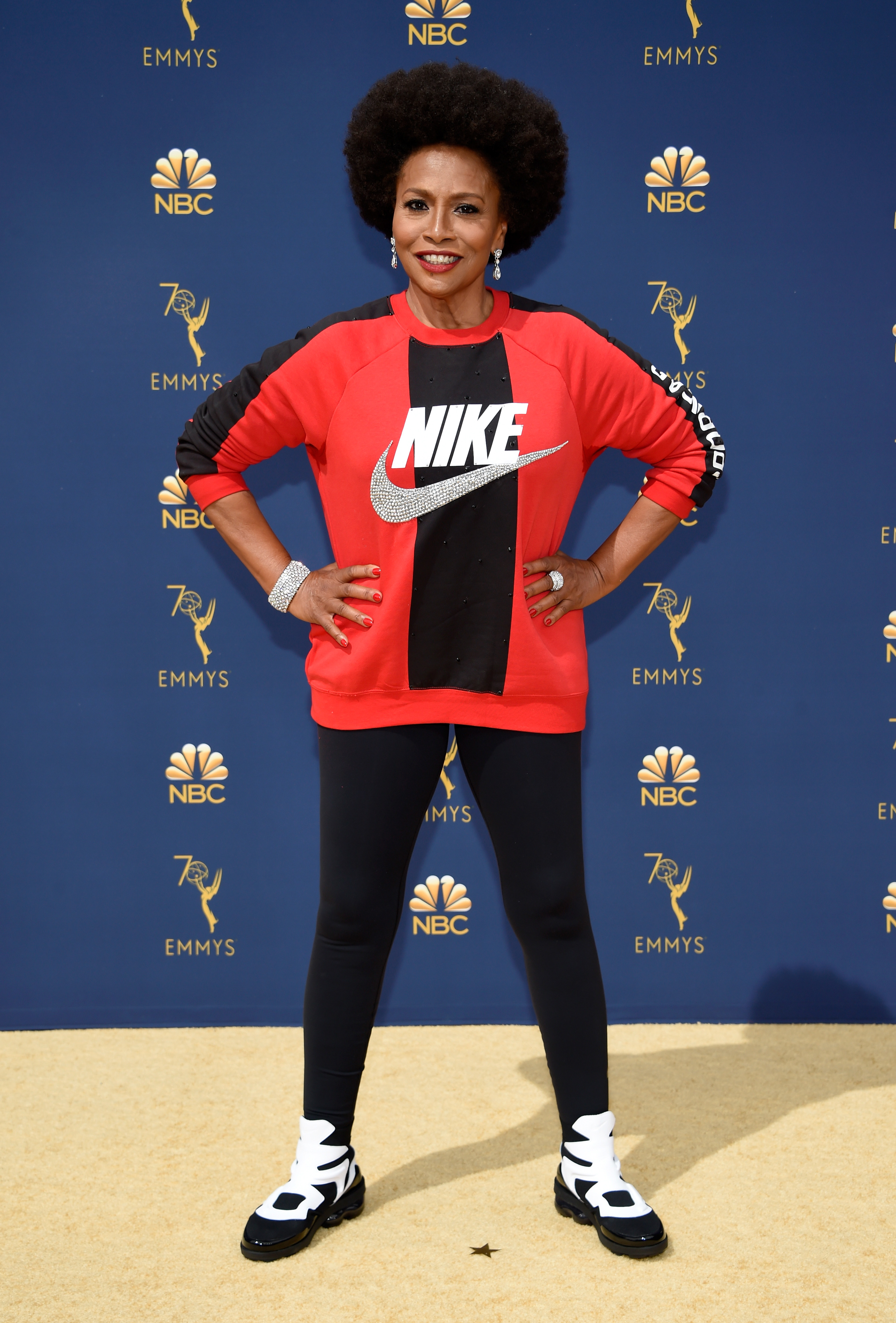 Jenifer Lewis attends the 70th Emmy Awards at Microsoft Theater on September 17, 2018 in Los Angeles, California.
