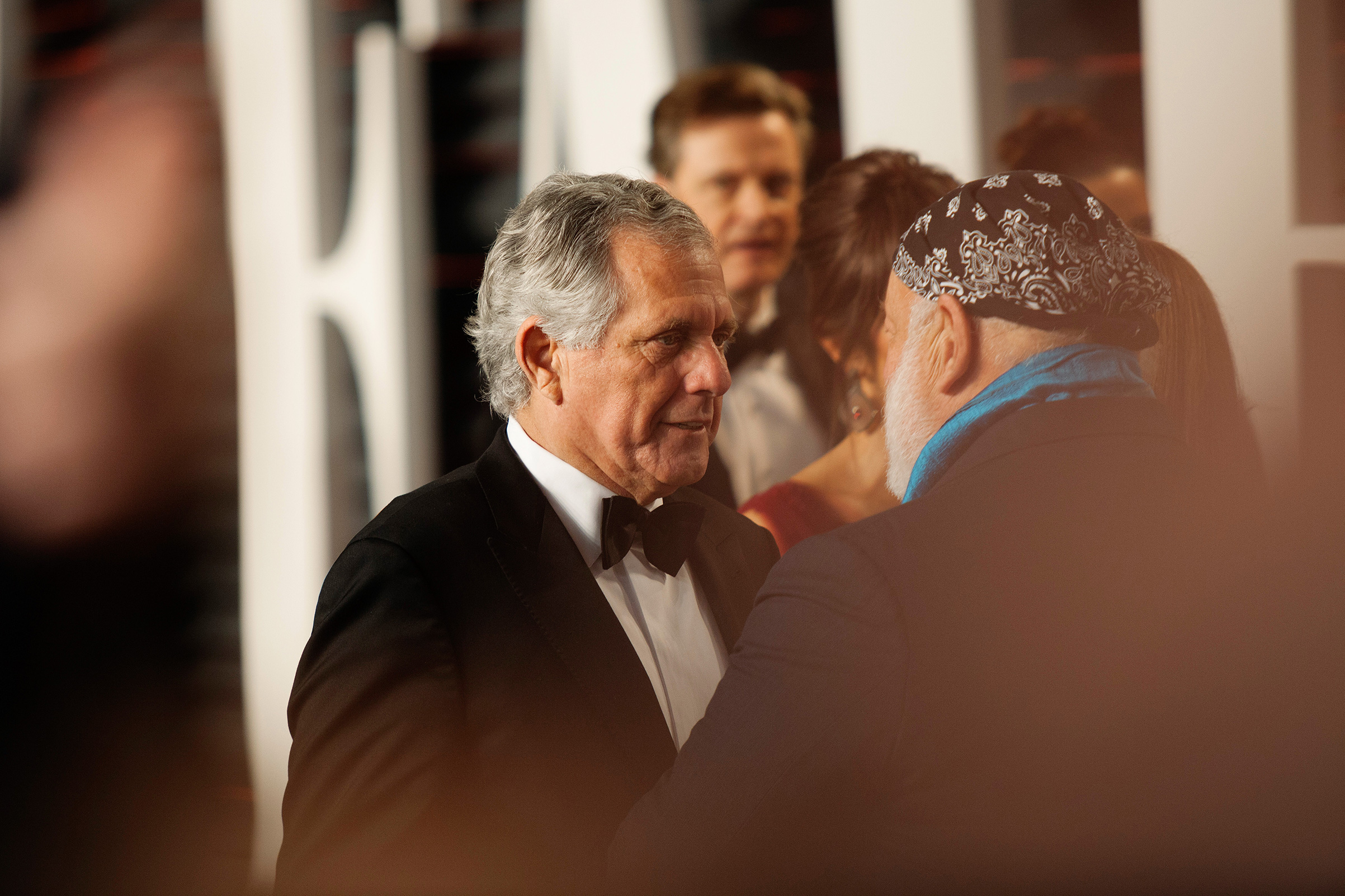 Les Moonves, the former chief executive of CBS, at the Vanity Fair Oscars party, in Beverly Hills, Calif., Feb. 28, 2016.