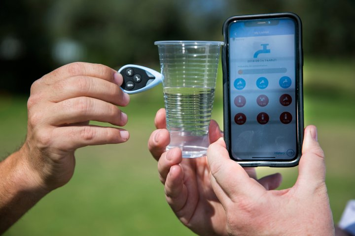 Lishtot's Test Drop determines if water is safe to drin
