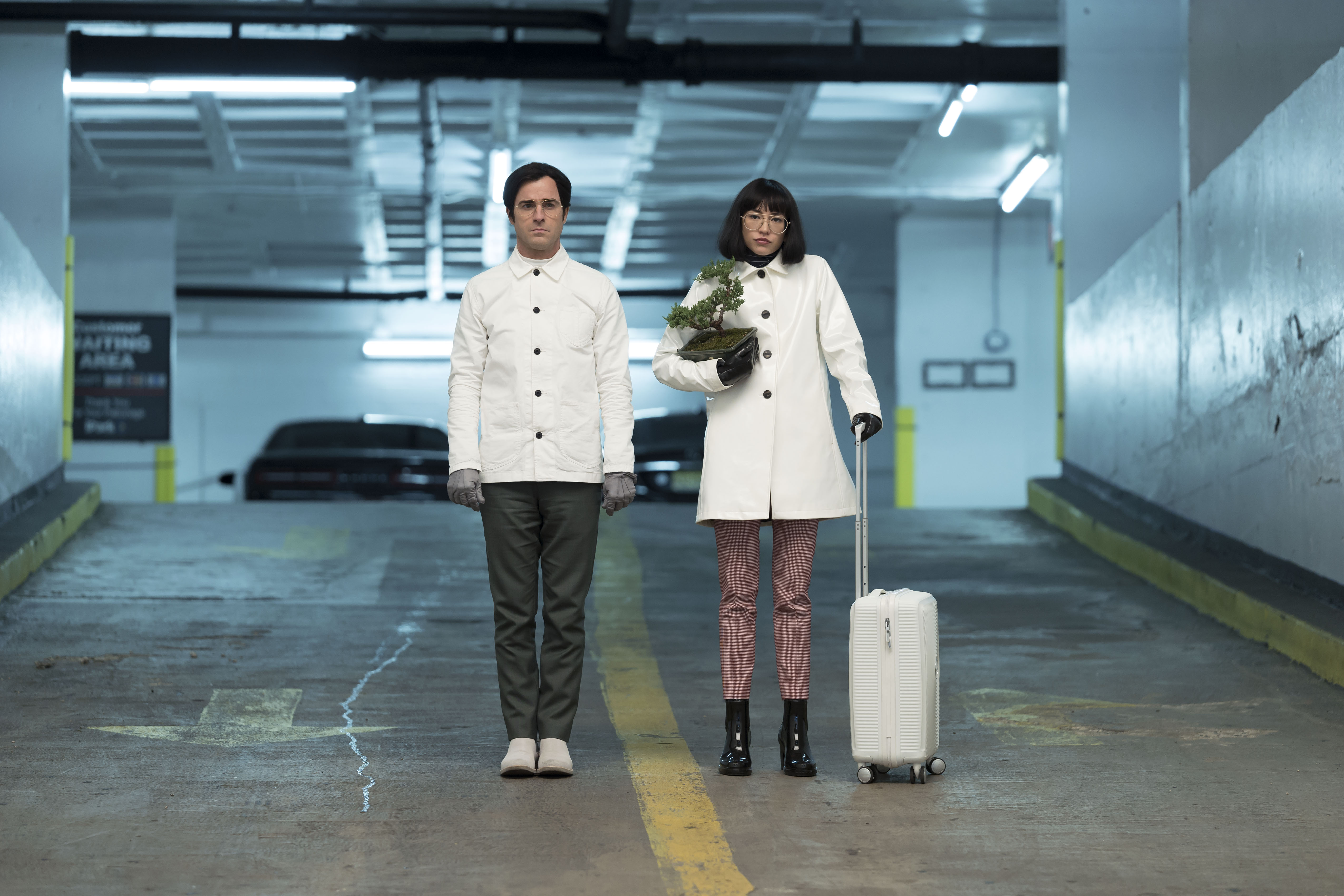 Dr. Manterlay (Theroux) and Azumi (Mizuno) at the end of Maniac