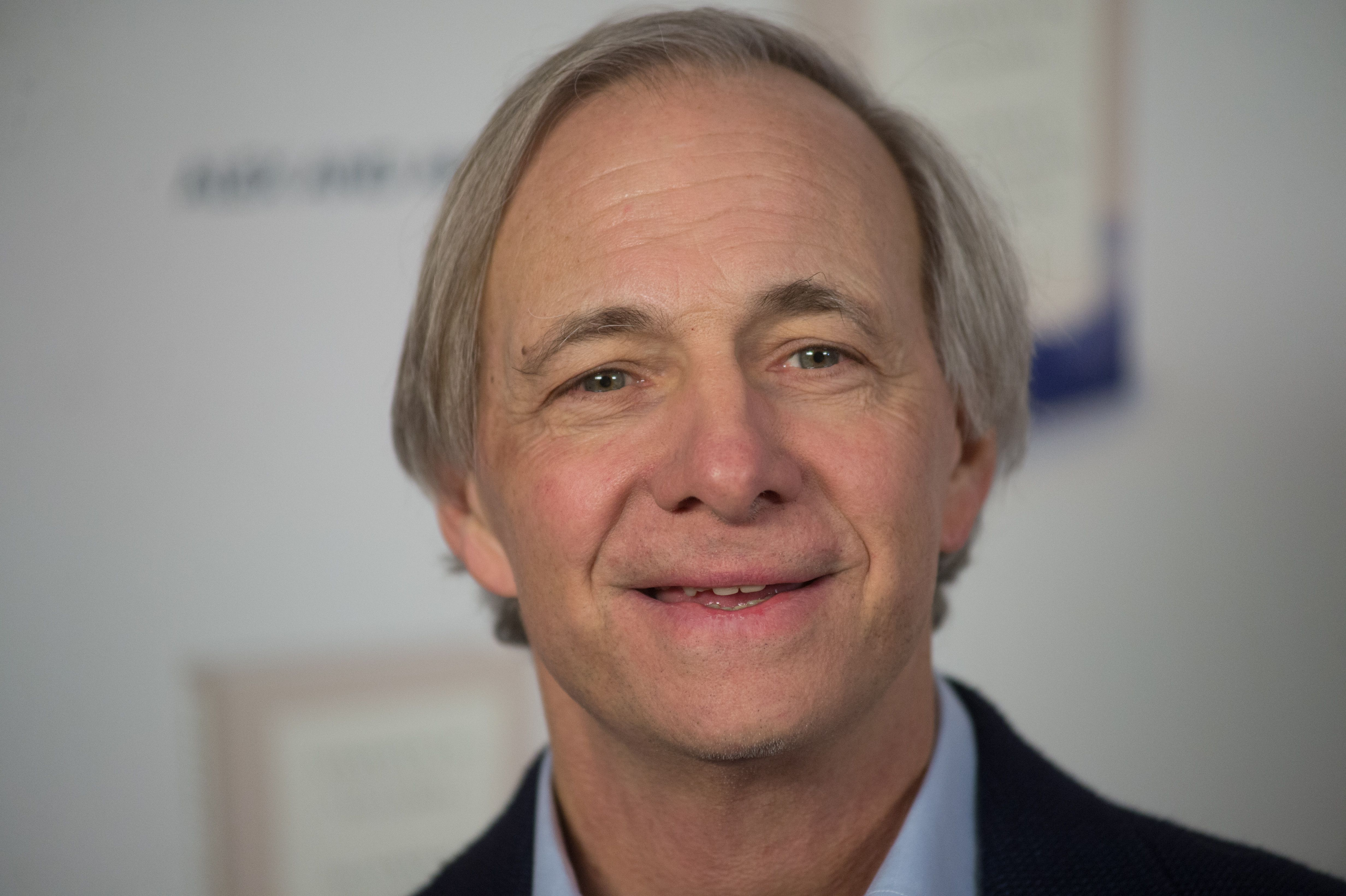 Ray Dalio in New York, New York, on Feb. 6, 2018.