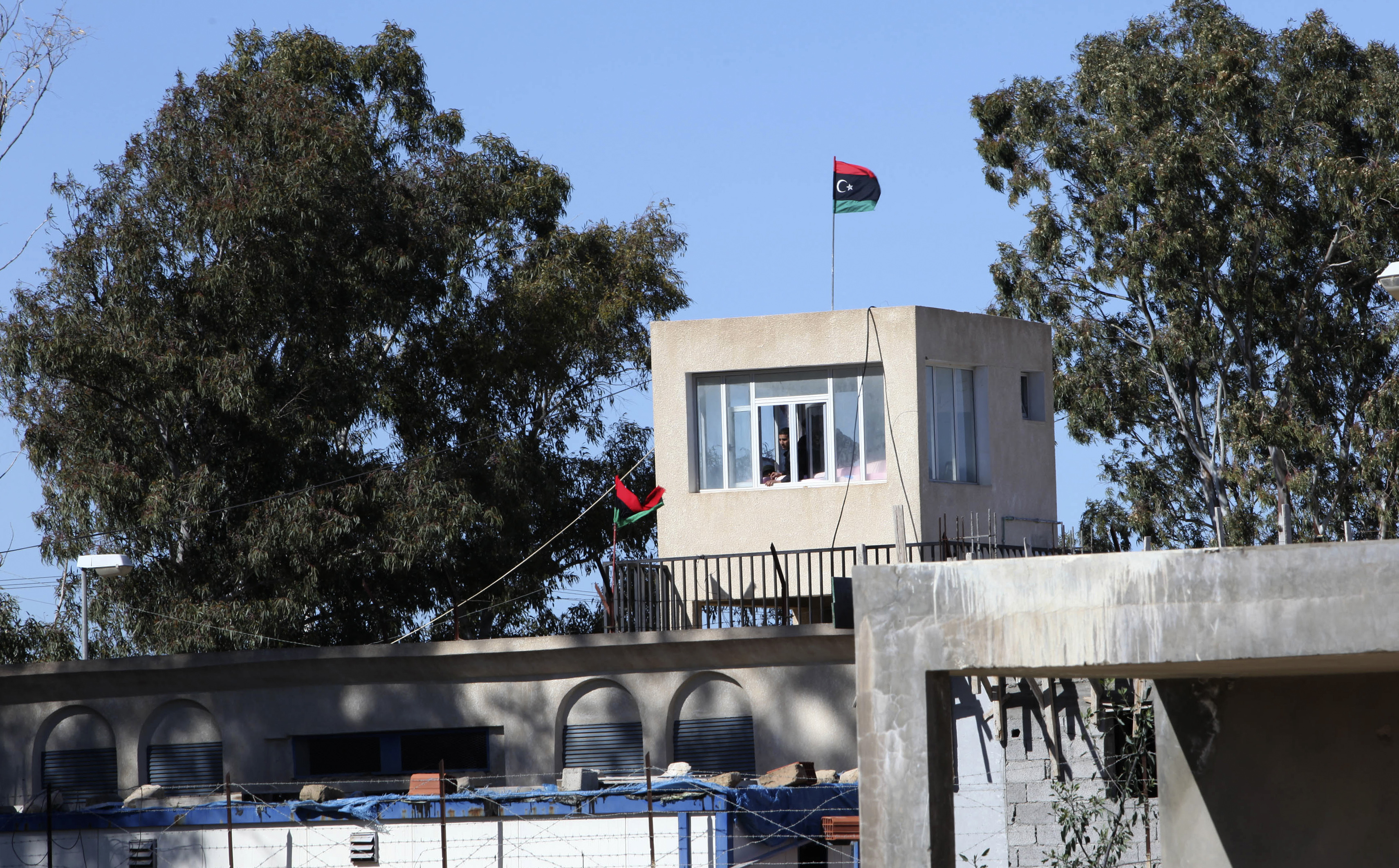 The Ain Zara prison, which was handed over to the Justice Ministry from a Tripoli-based militia, seen in Tripoli, Libya on Feb. 2, 2012.