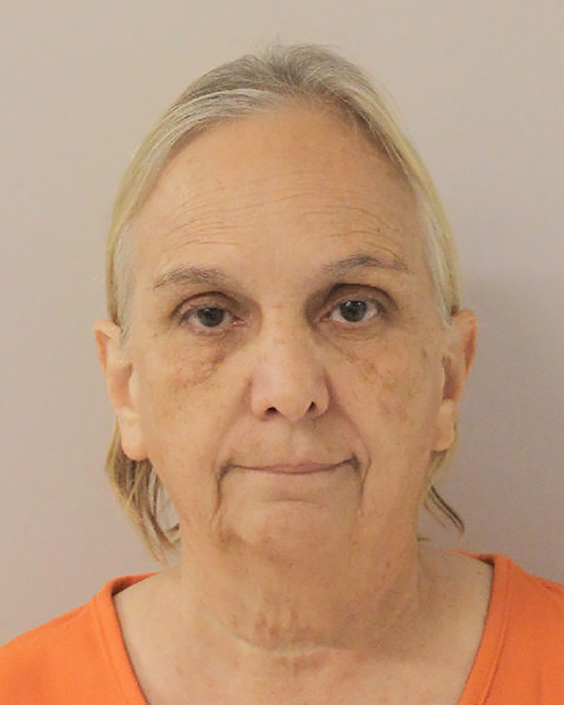 Former USA Gymnastics trainer Debbie Van Horn appears in a booking photo provided by Walker County Jail in Huntsville, Texas, on Sept. 6, 2018.