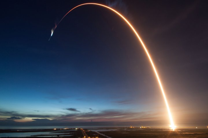 SpaceX rocket Falcon 9 FT launches for Mission CRS-15 on June 29, 2018.