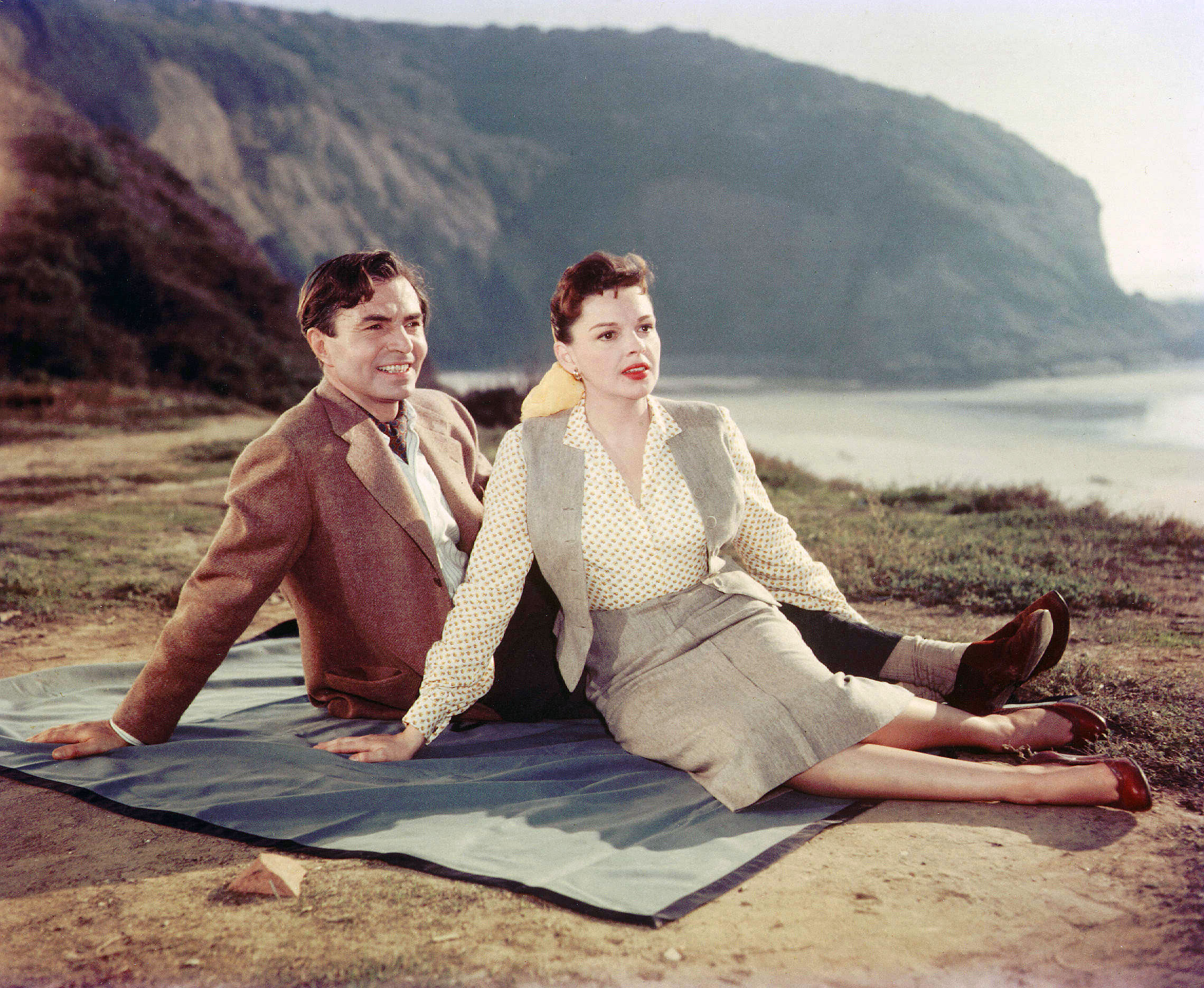 James Mason and Judy Garland in  A Star Is Born,  1954.