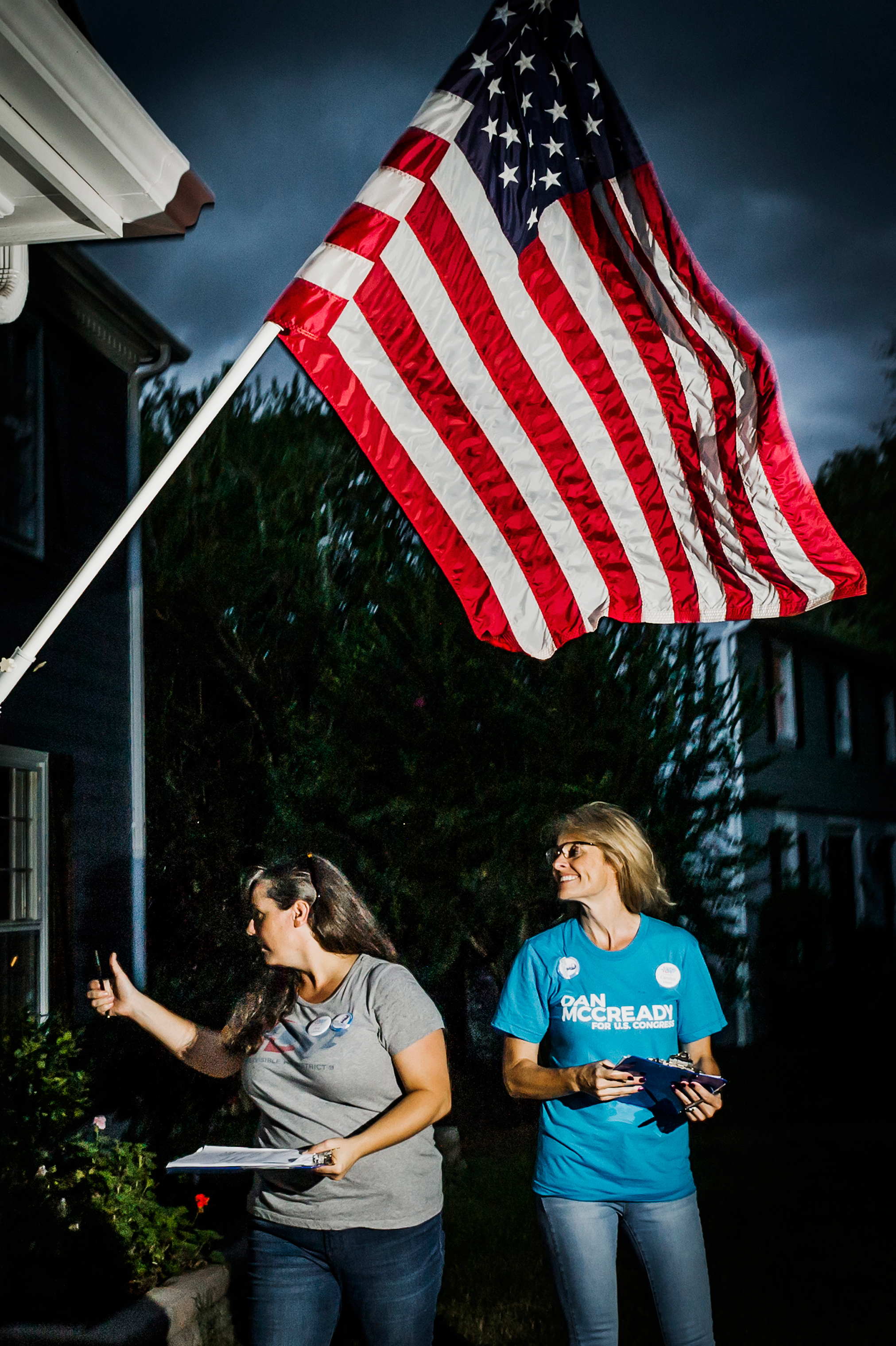 Indivisible N.C. 9 is just one platoon in a volunteer army that took the field after Trump's election in 2016.