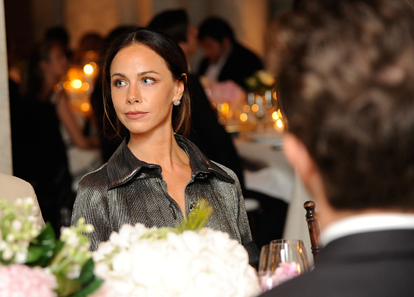 Barbara Pierce Bush attends the CHANEL Fine Jewelry Dinner supporting treasures from the New York Public Library Collection at the New York Public Library's Stephen A. Schwarzman Building on June 2, 2016 in New York City.