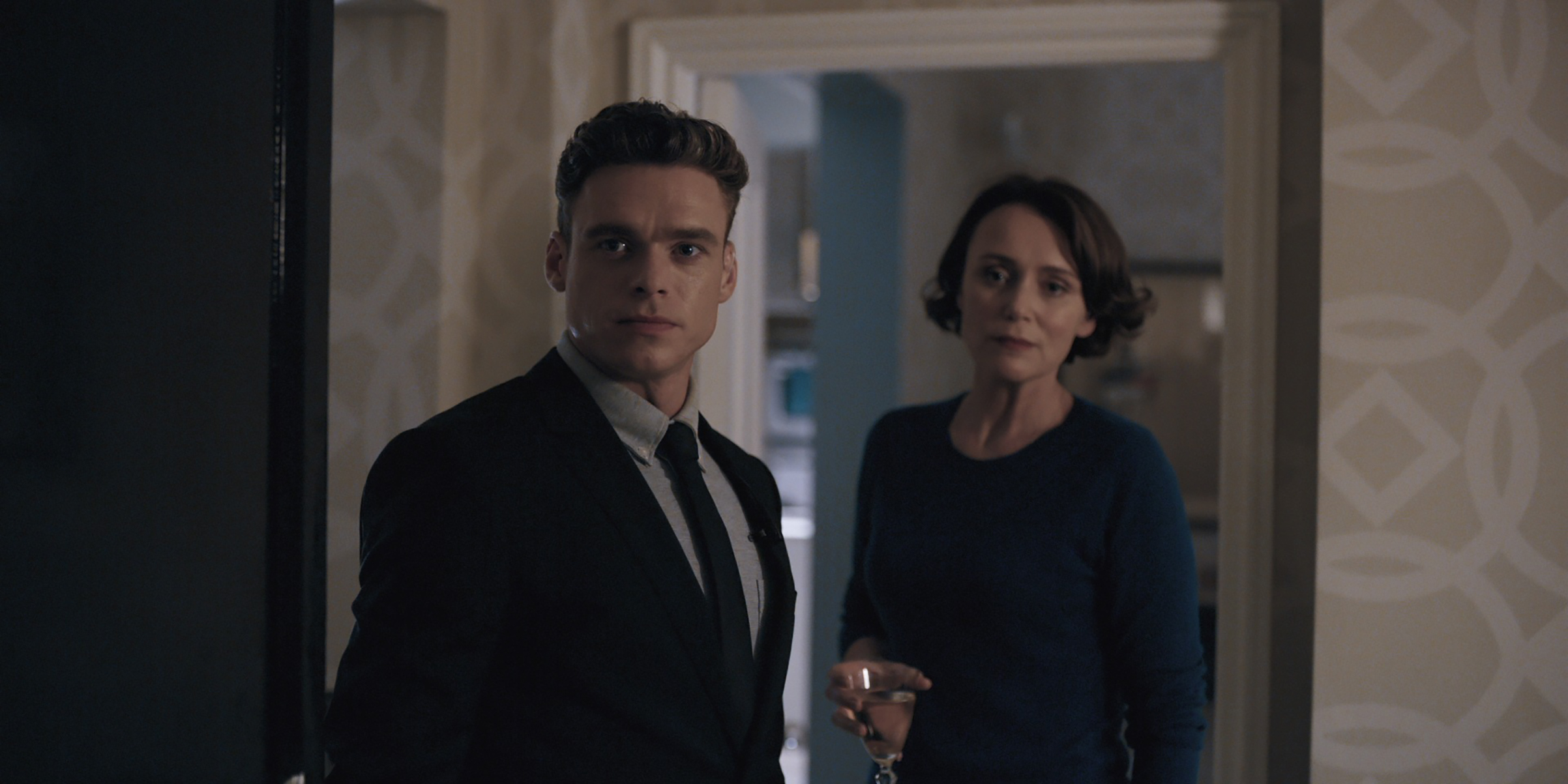 Madden and Hawes in Netflix's Bodyguard