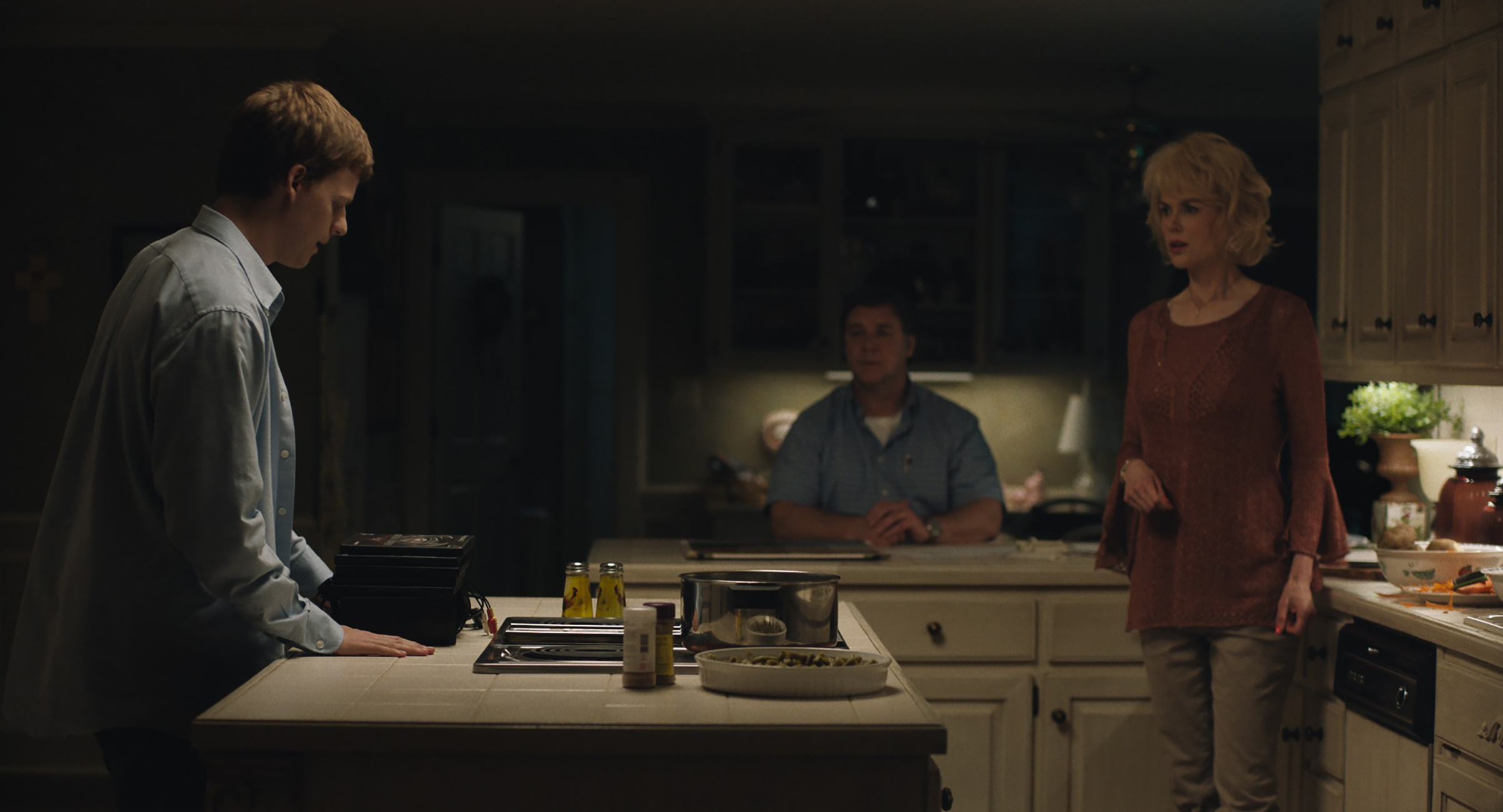 Hedges, Crowe and Kidman in Boy Erased: all of the movie's performances are valiant, but Hedges outshines the rest