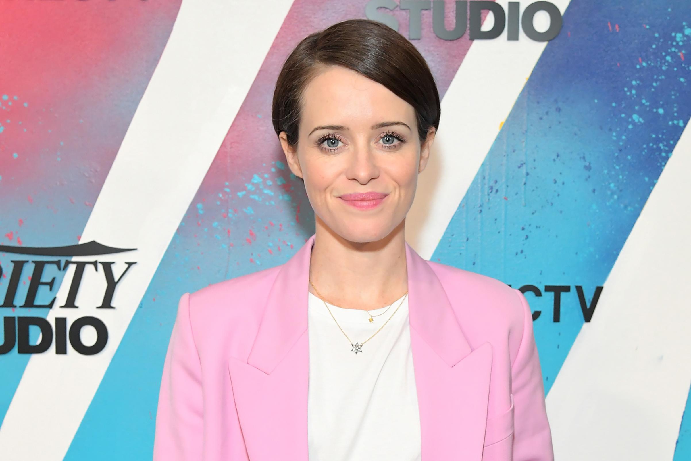 Claire Foy during Toronto International Film Festival on Sept. 10, 2018.