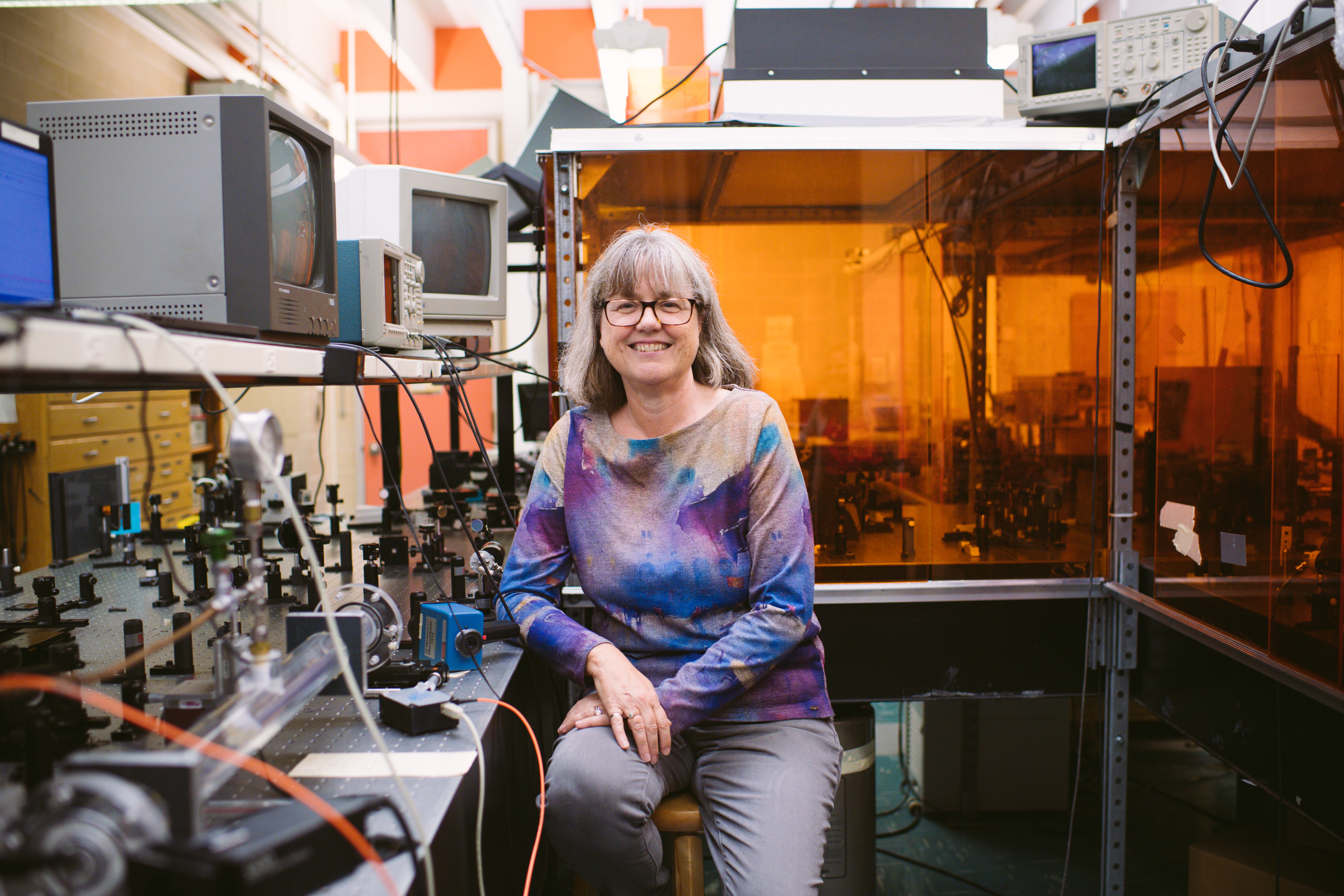 University of Waterloo professor Donna Strickland won the 2018 Nobel Prize in physics.