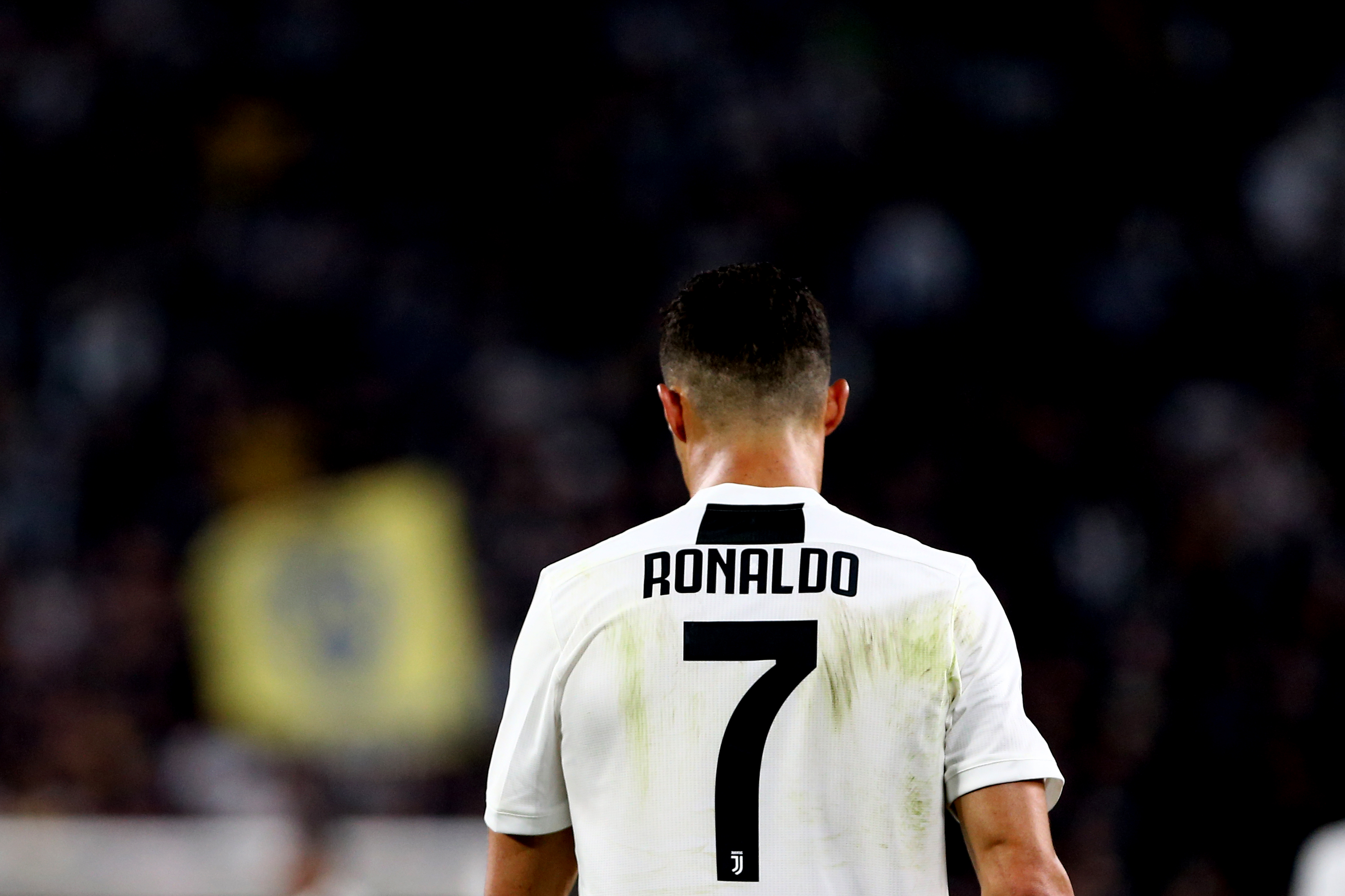 Cristiano Ronaldo of Juventus FC   during the Serie A football match between Juventus Fc and Ssc Napoli.