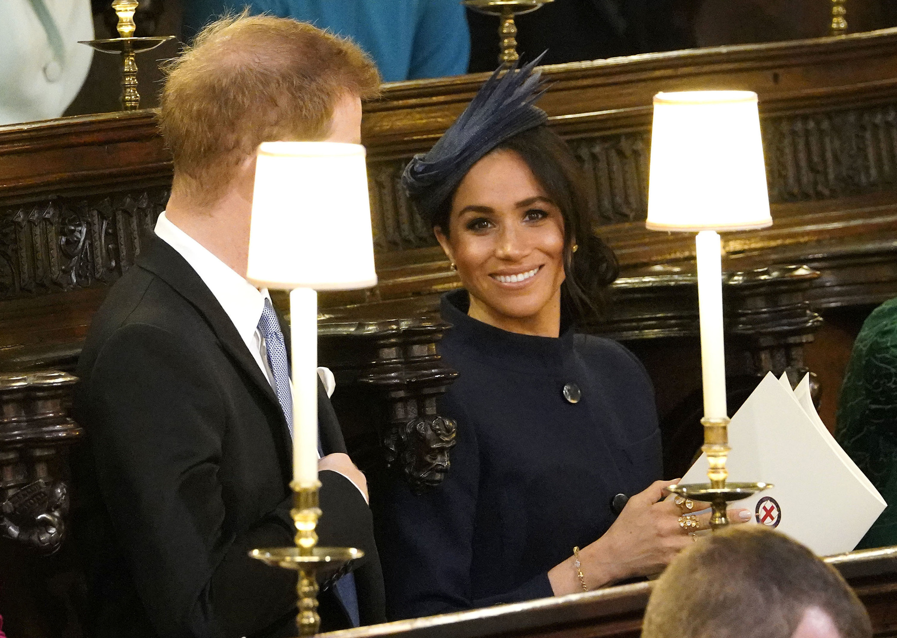 OCT 12: Prince Harry, Duke of Sussex and Meghan, Duchess of Sussex