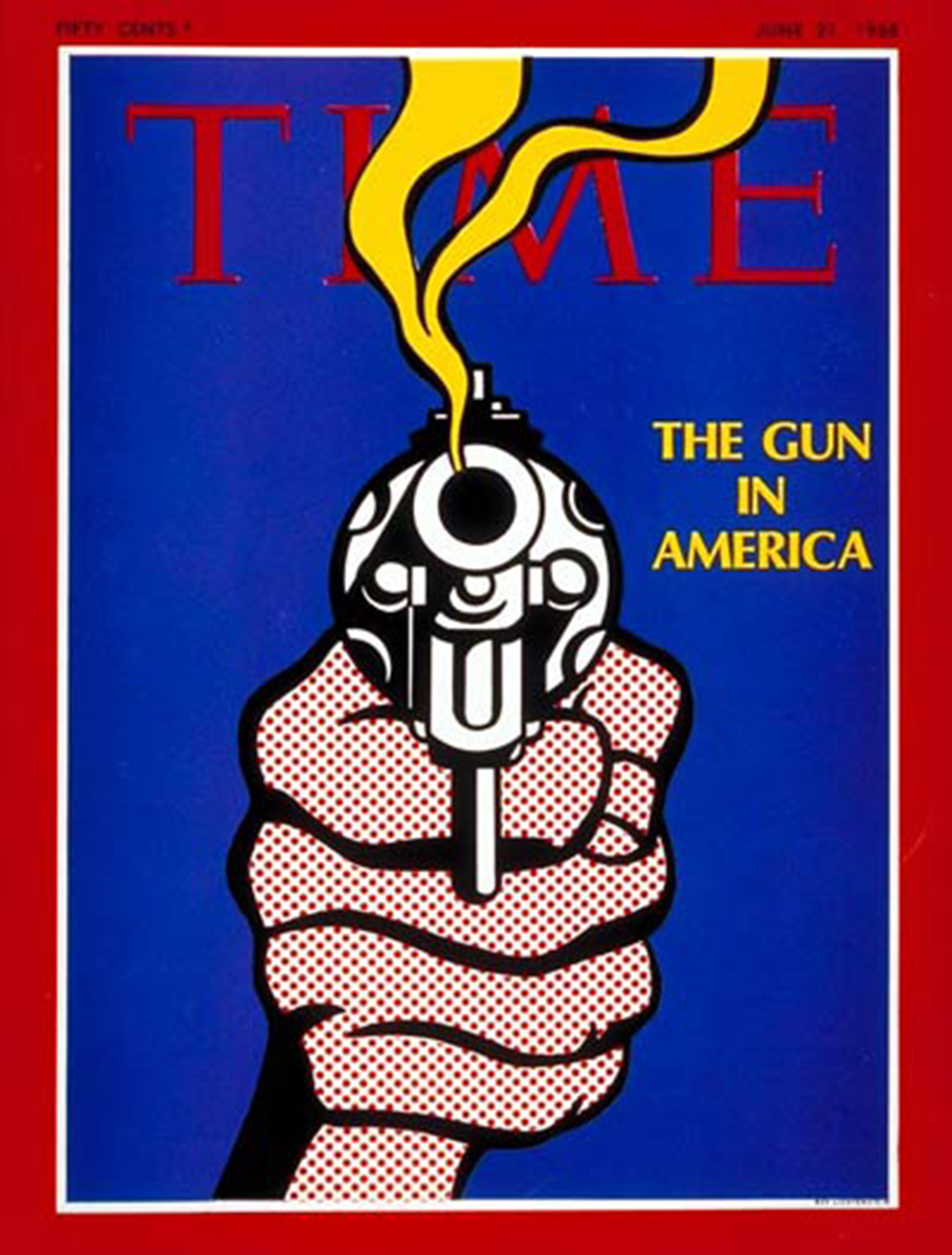 The Jun. 21, 1968, cover of TIME following the assassination of Robert F. Kennedy on Jun. 6