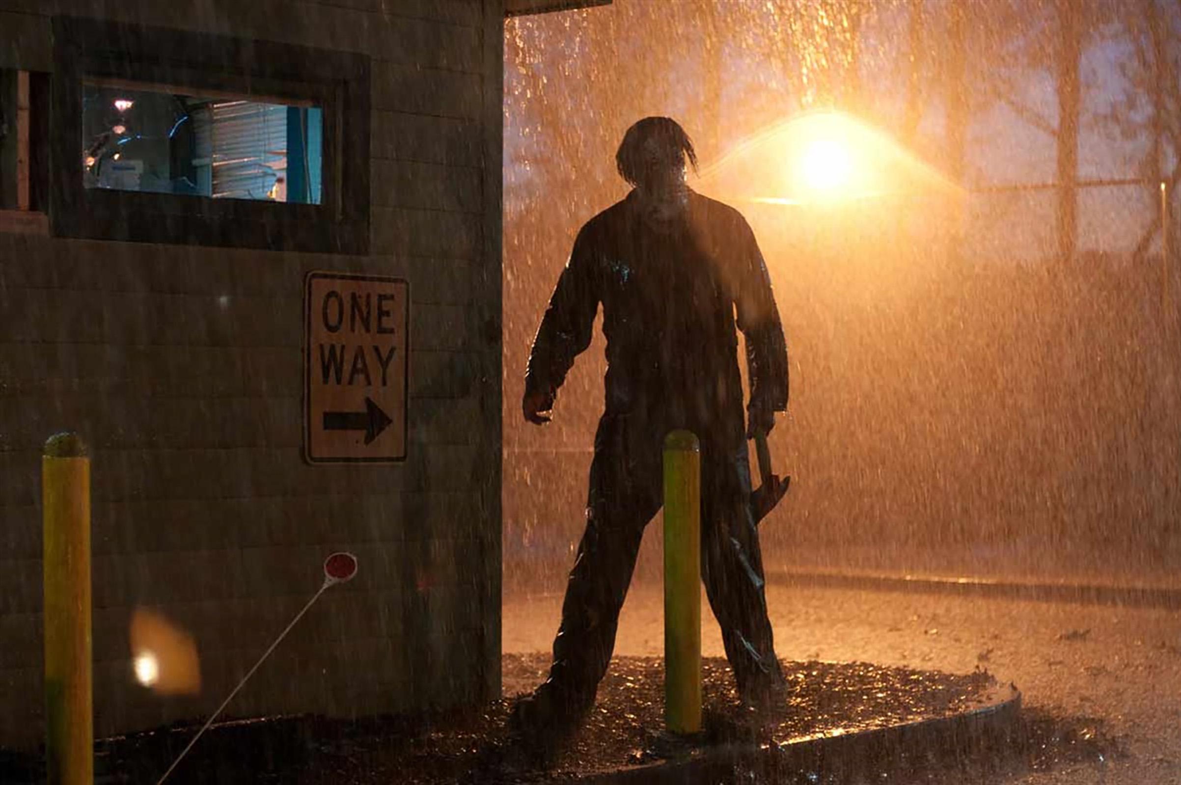 Tyler Mane as Michael Myers in  Halloween II