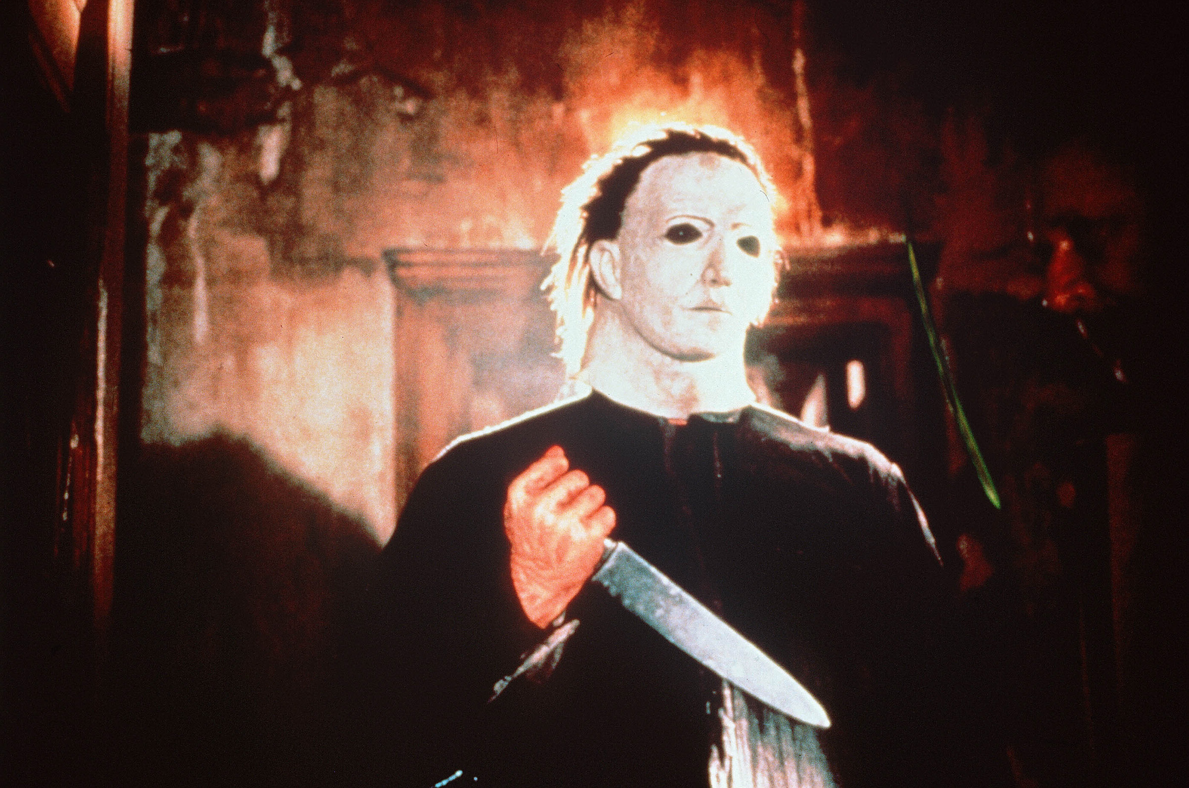 Donald L. Shanks as Michael Myers in  Halloween 5: The Revenge of Michael