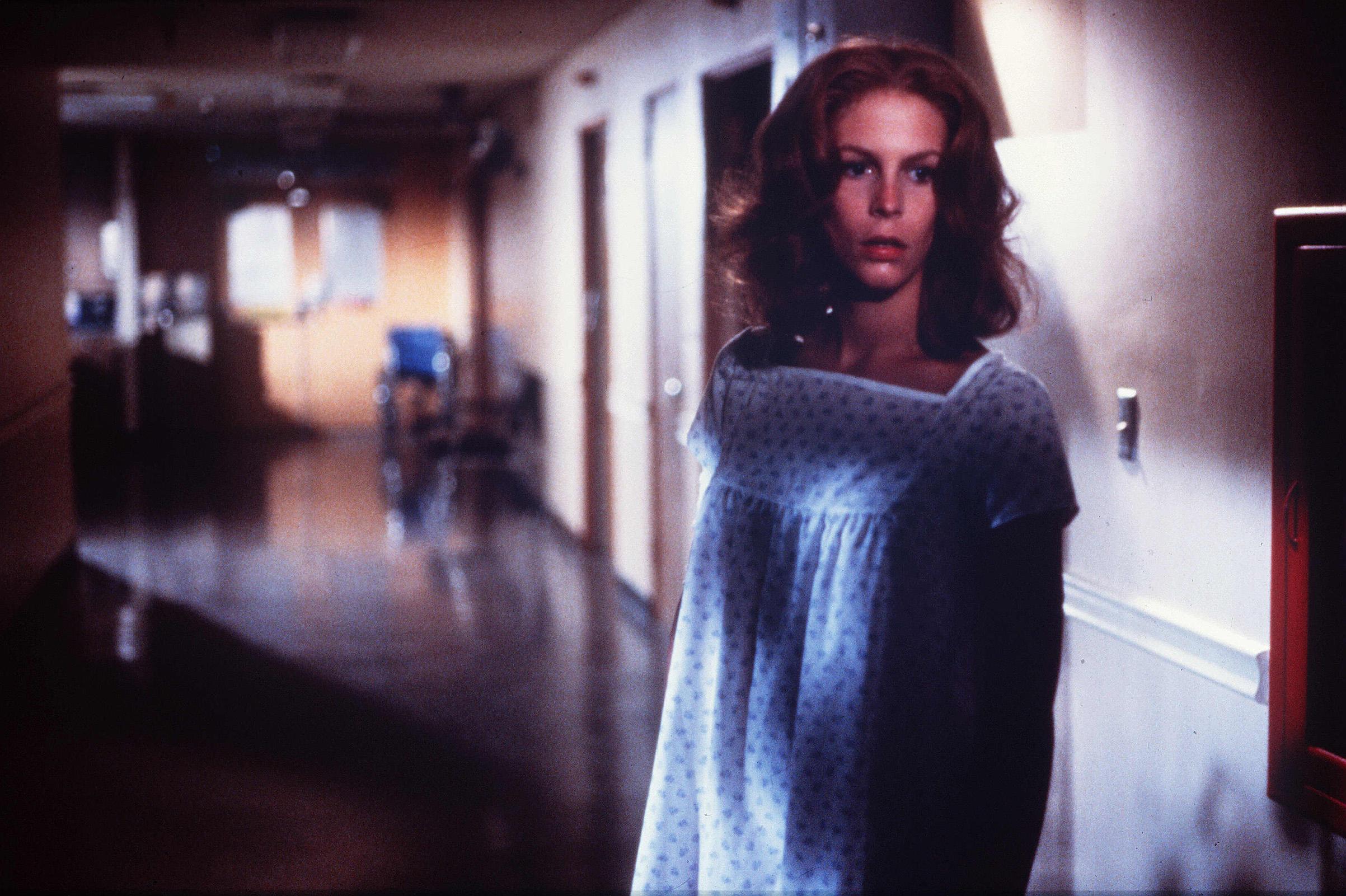 Jamie Lee Curtis as Laurie Strode in  Halloween II .