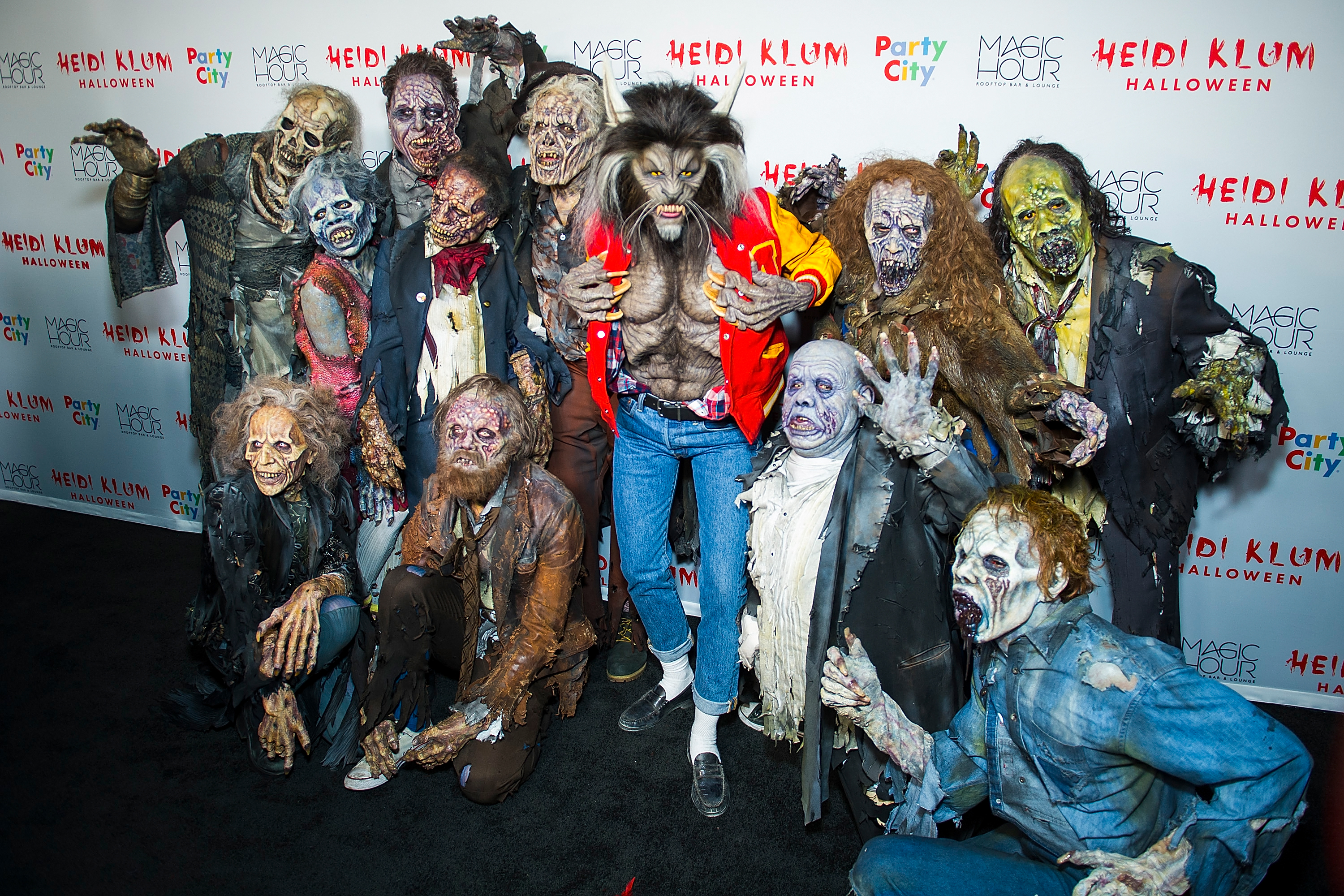 Heidi Klum attends her 18th Annual Halloween Party in New York City. (Photo by Michael Stewart/Getty Images)