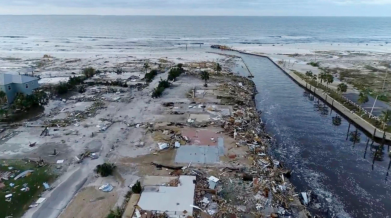 Mexico Beach After Hurricane