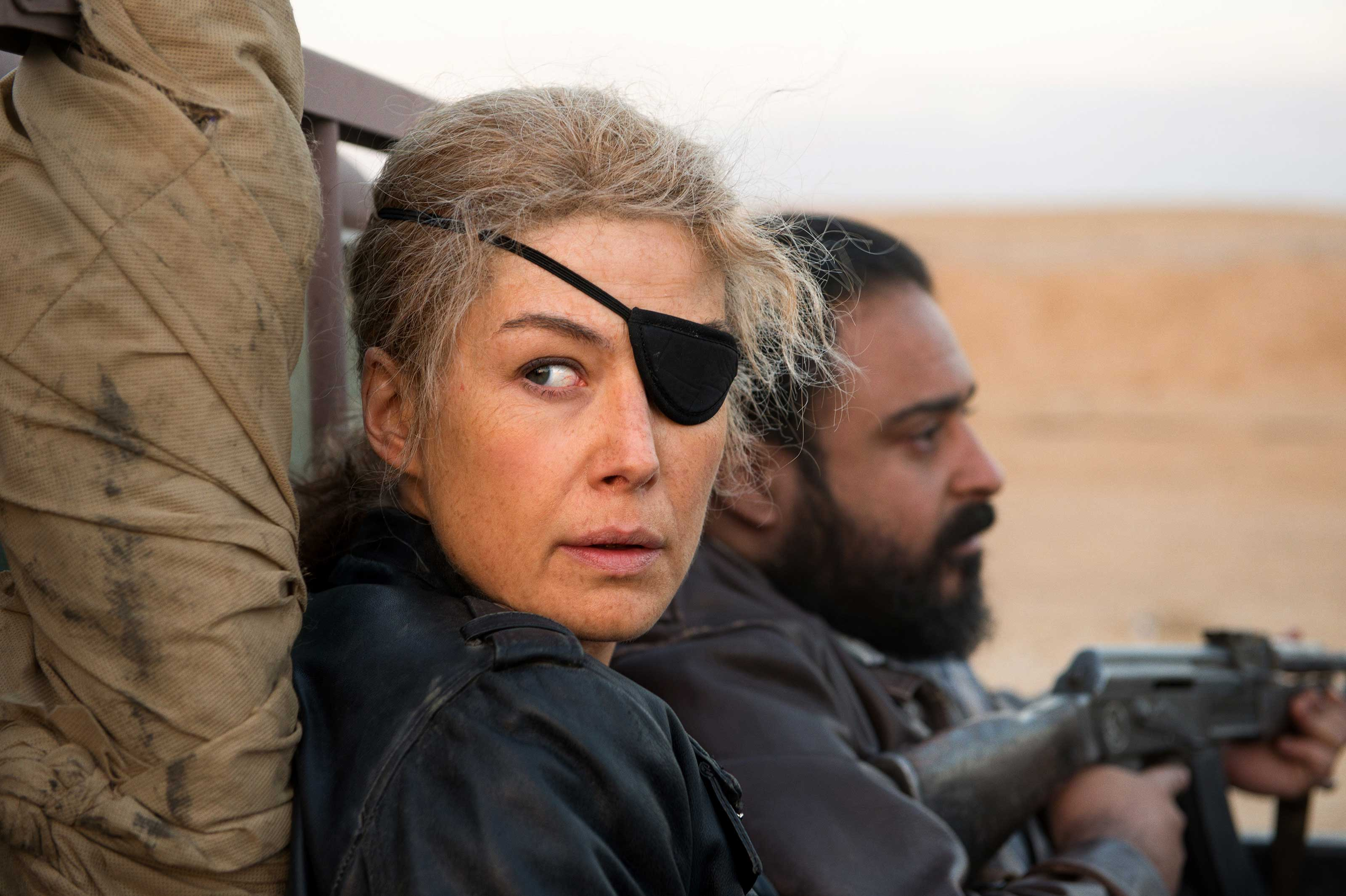 Rosamund Pike as war journalist Marie Colvin in  A Private War .