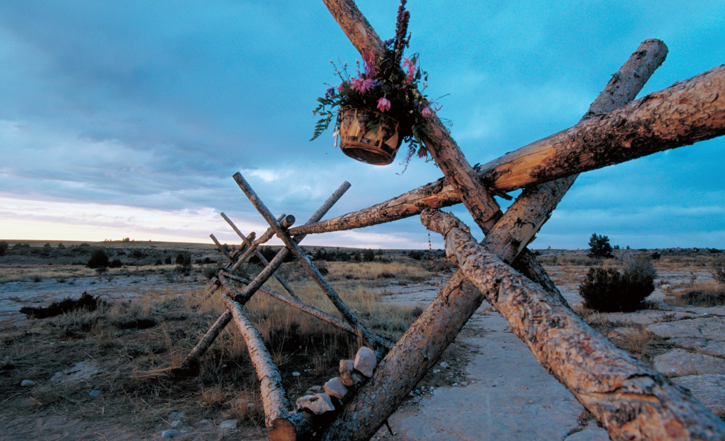The fence near Laramie, Wyo. where Matthew Shepard was left tied and beaten