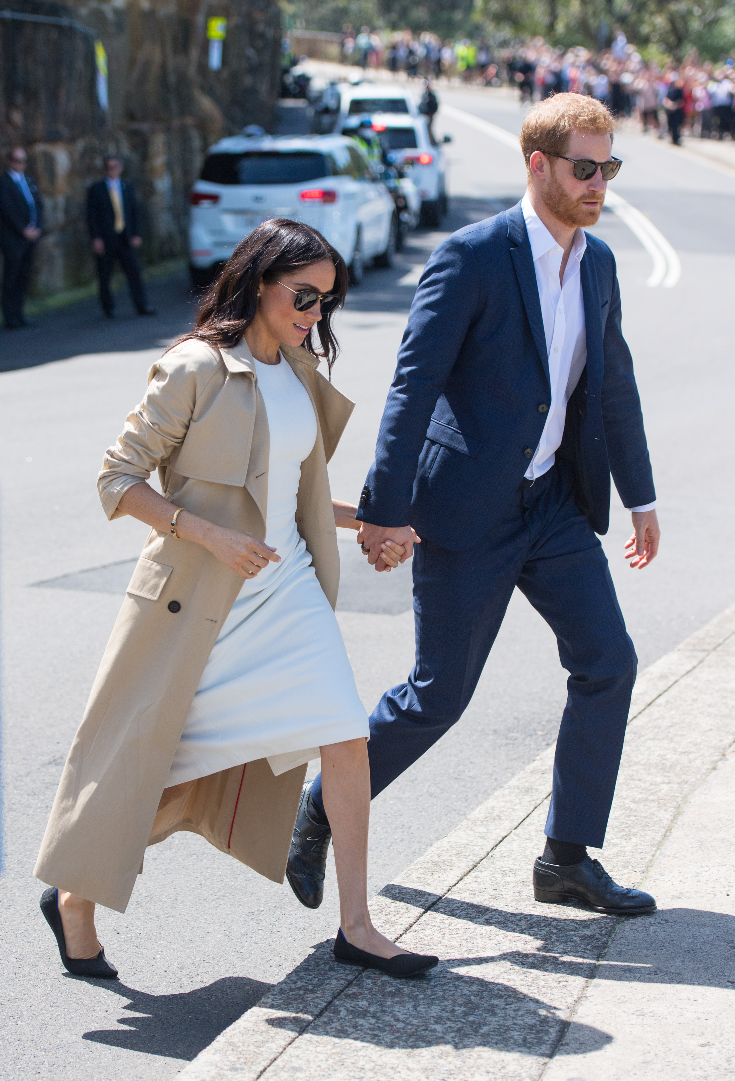 Megan Markle wears Rothy flats in Sydney, Australia (Dominic Lipinski/ Pool/Getty Images)