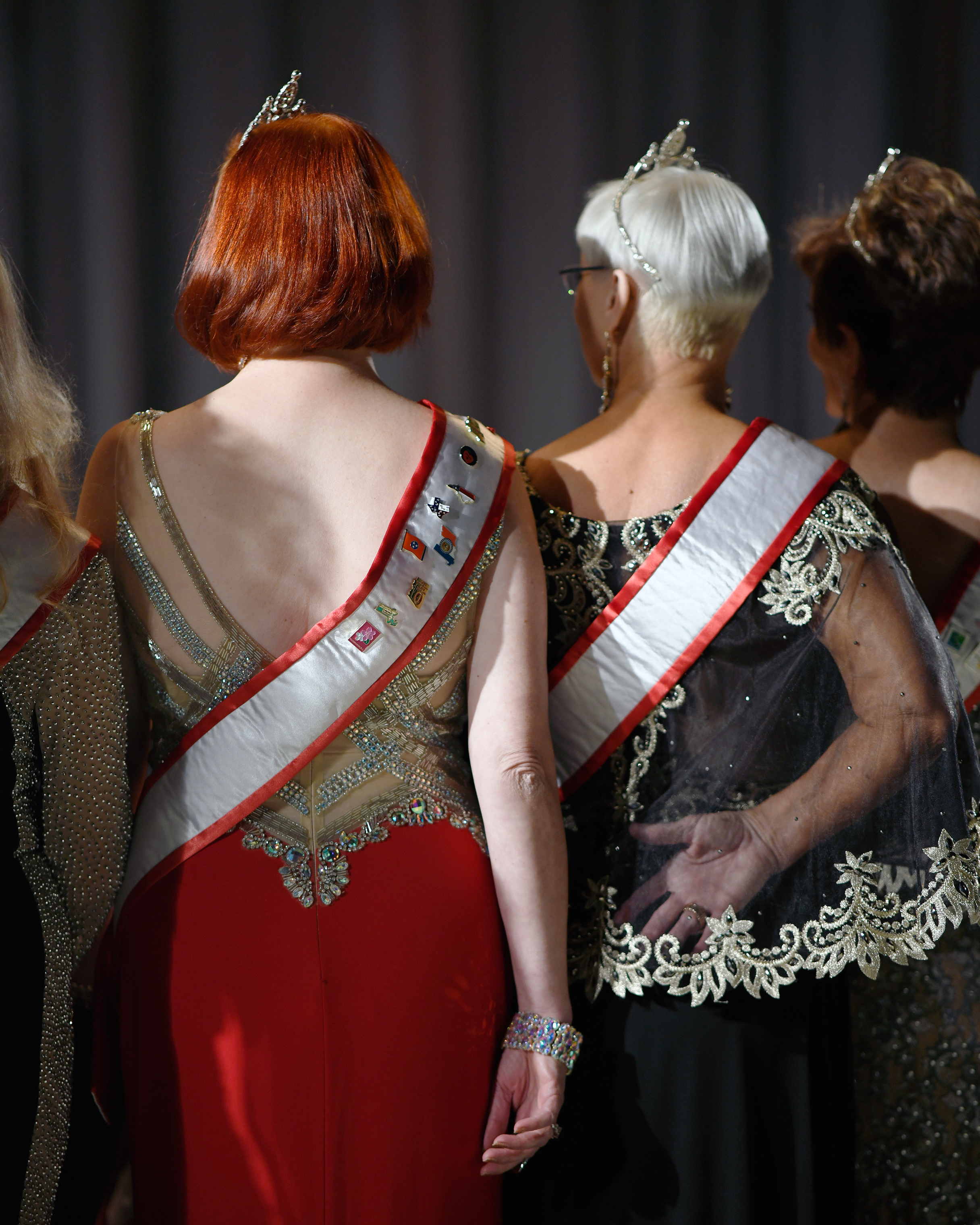 Thirty-nine women competed in the Ms. Senior America pageant in Atlantic City, N.J.