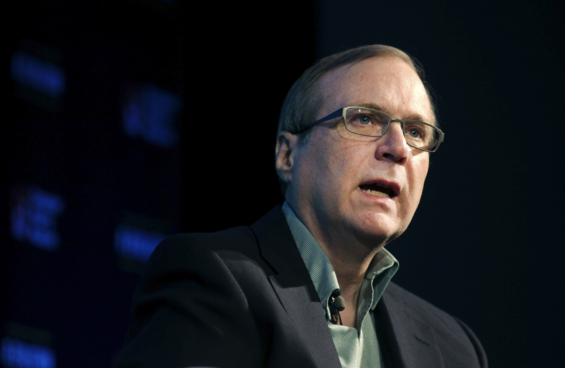 Microsoft co-founder Paul Allen discusses his new memoir  Idea Man  during an appearance at the Computer History Museum in Mountain View, Calif., in 2011.