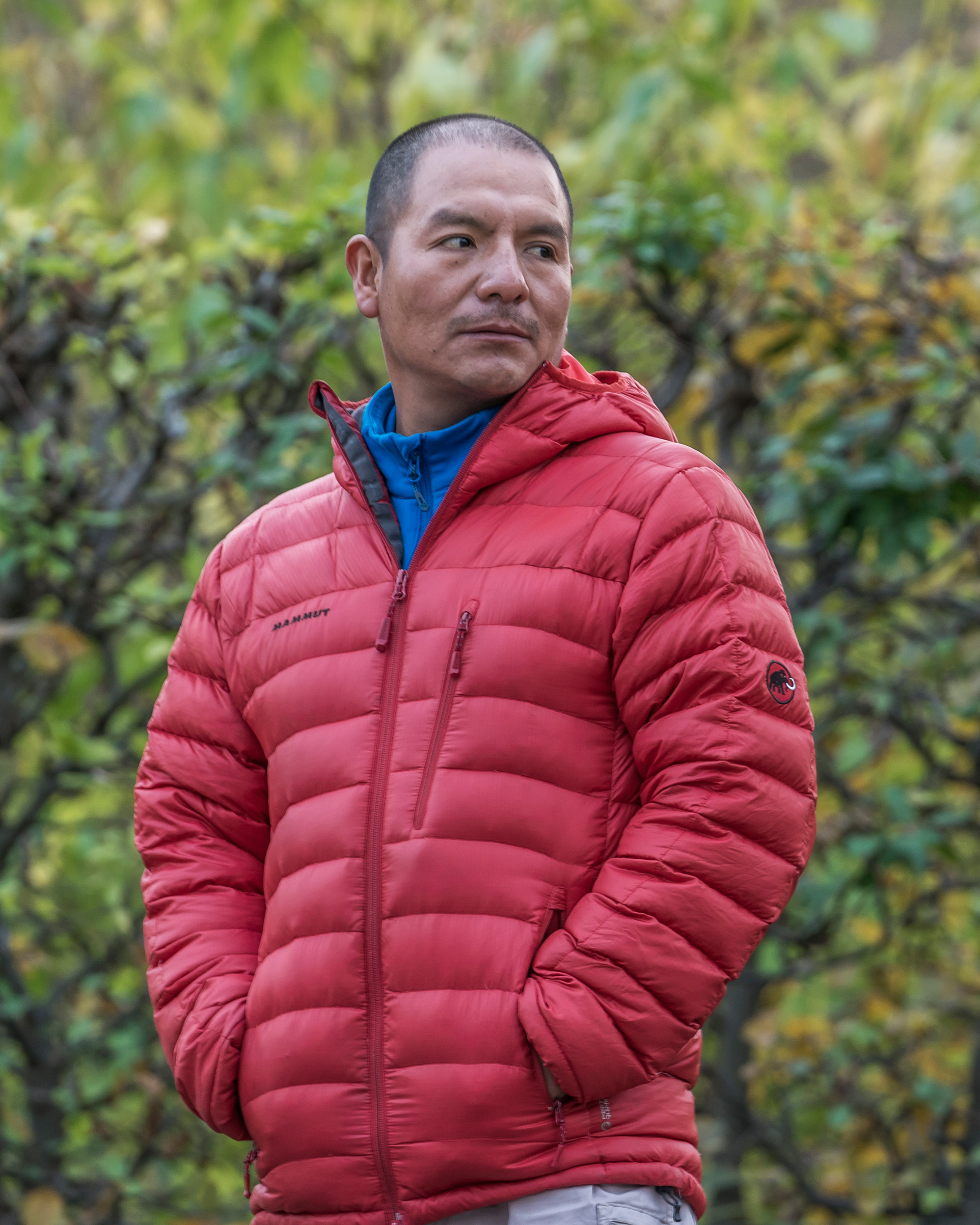 Saul Luciano Lliuya, a farmer from Peru, at the U.N. Climate Change Conference in Bonn, Germany, on Nov. 14, 2017.