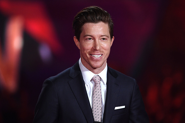 Shaun White speaks onstage during the 2018 iHeartRadio Music Awards which broadcasted live on TBS, TNT, and truTV at The Forum on March 11, 2018 in Inglewood, California.