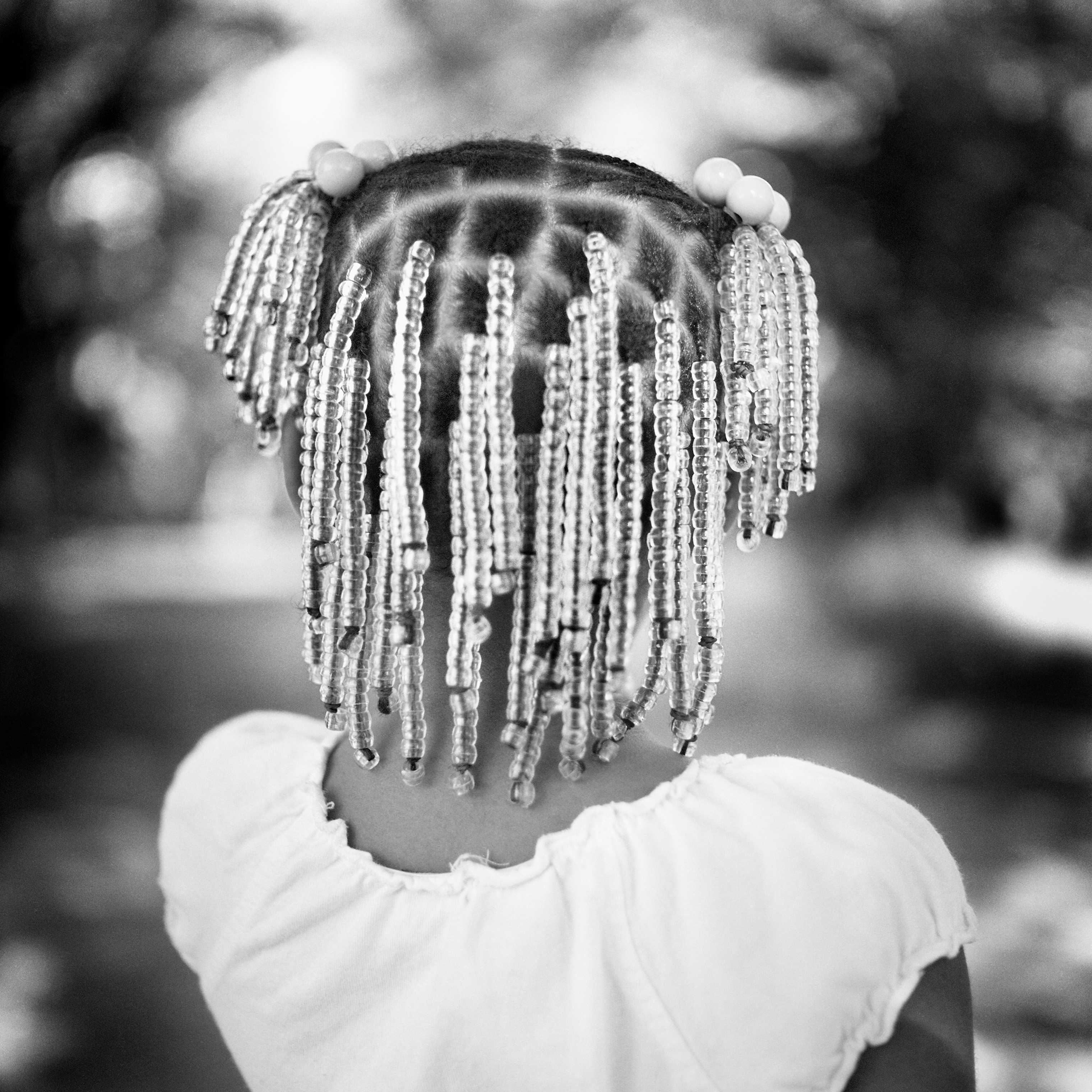 Maw Maw's New Braids, Duncan, Miss., from the  In That Land of Perfect Day  book, featured in the  Southbound  exhibition.