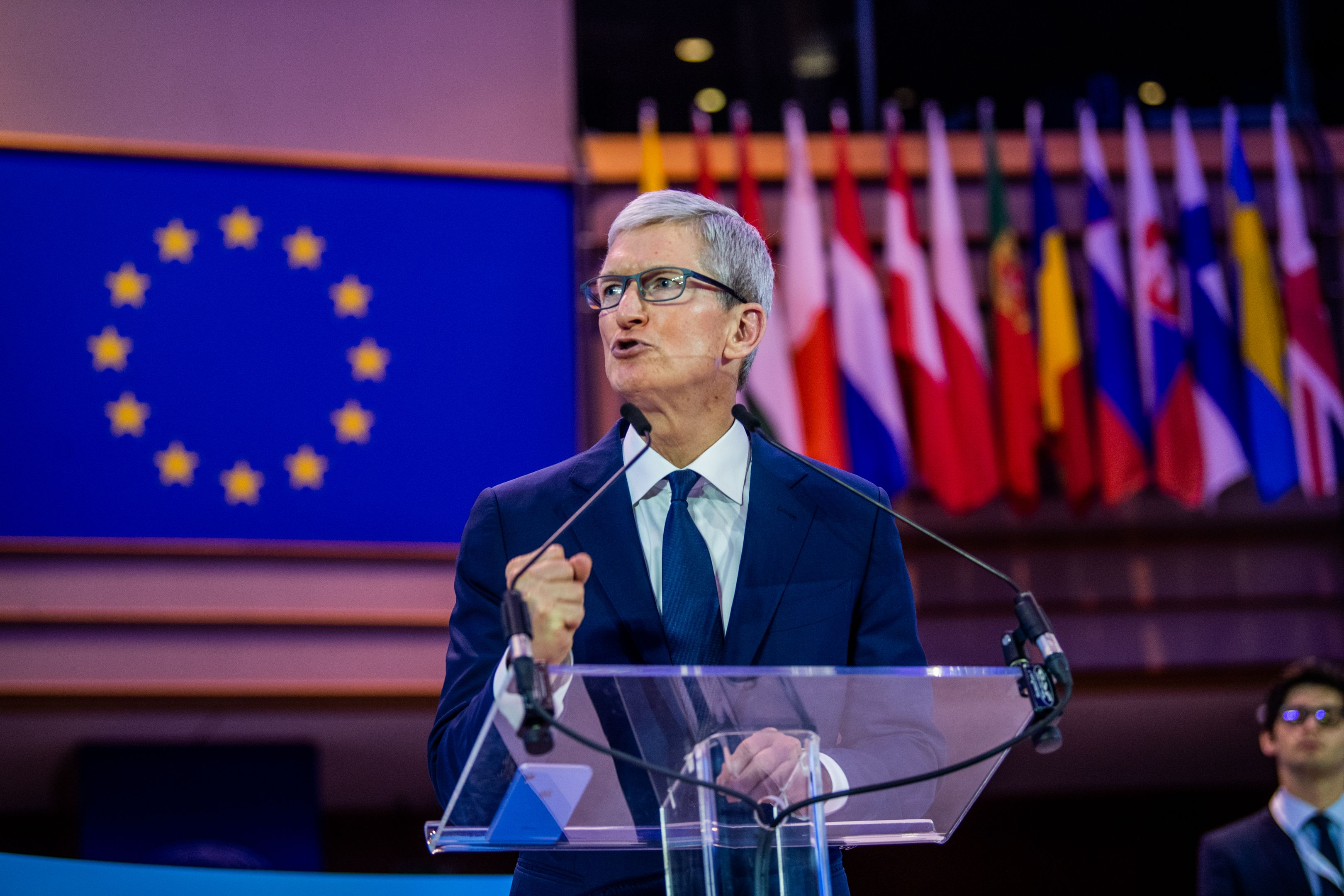 Tim Cook                     40th International Conference of Data Protection and Privacy Commissioners, Brussels, Belgium - 24 Oct 2018