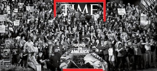 Guns in America Time Magazine Cover