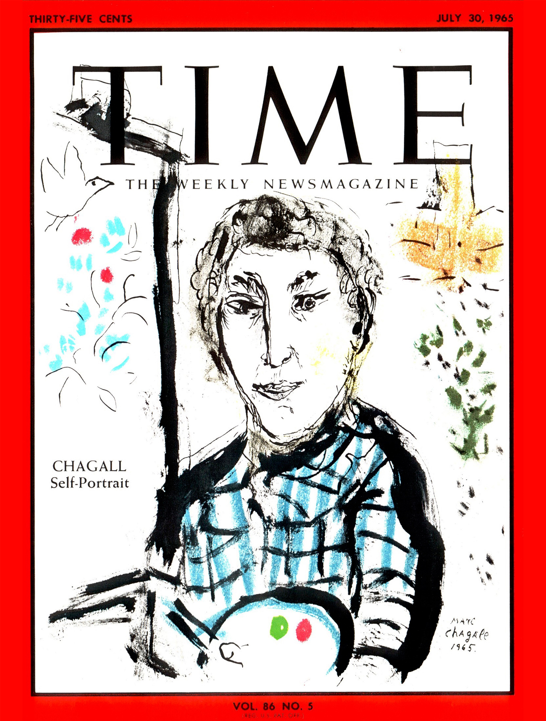 Marc Chagall for TIME