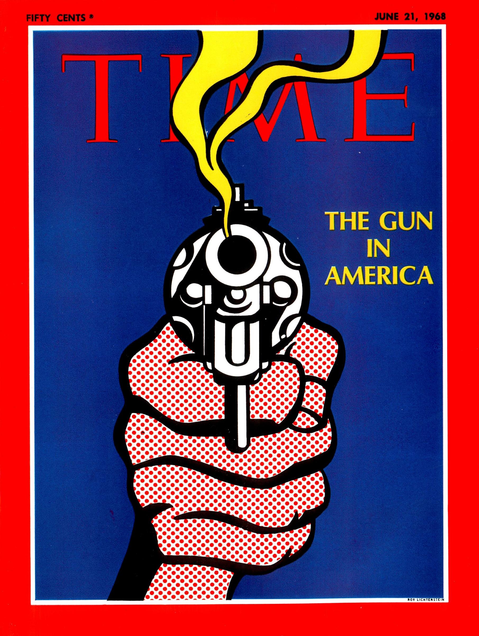 Roy Lichtenstein for TIME