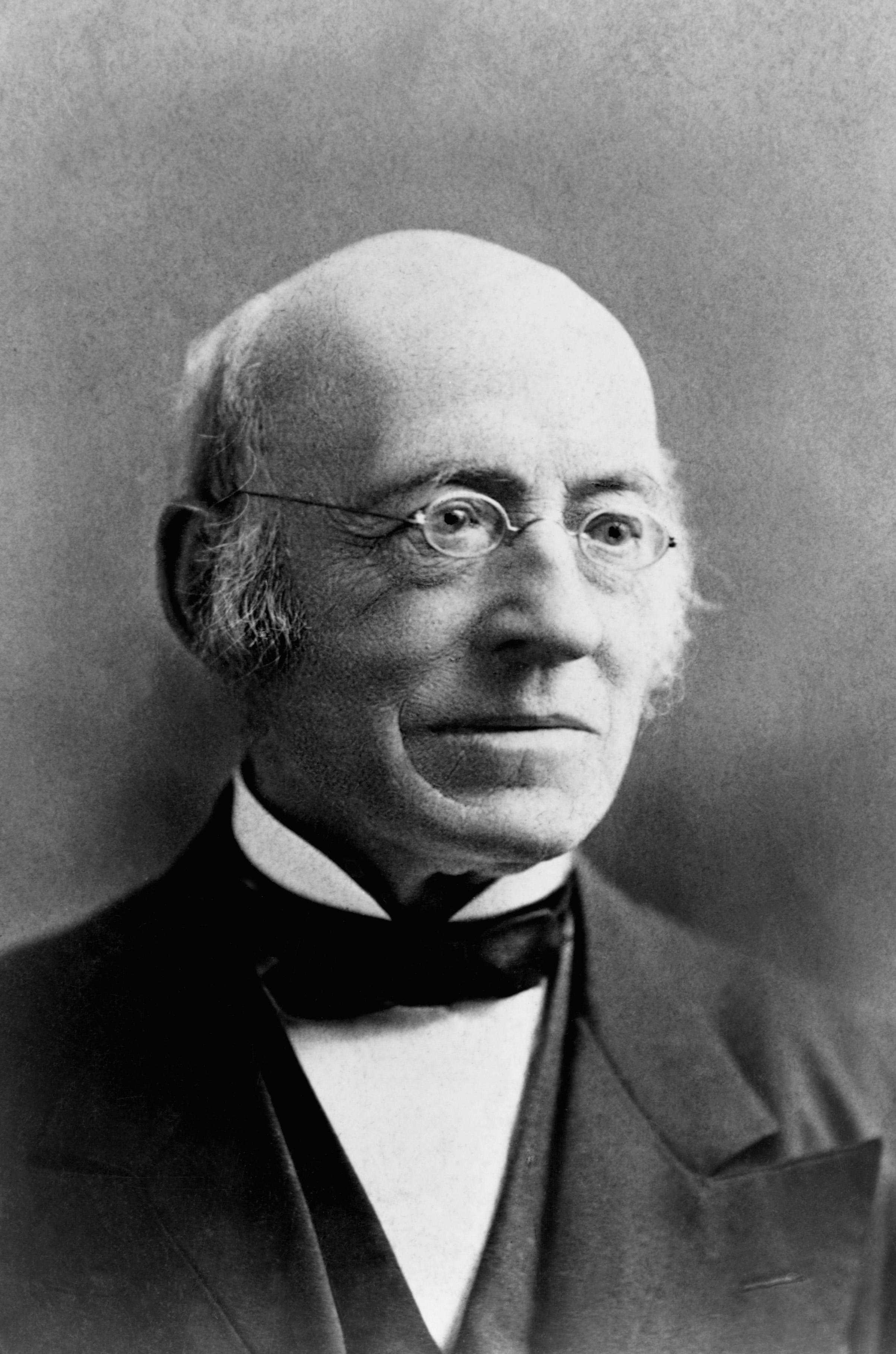 Abolitionist William Lloyd Garrison