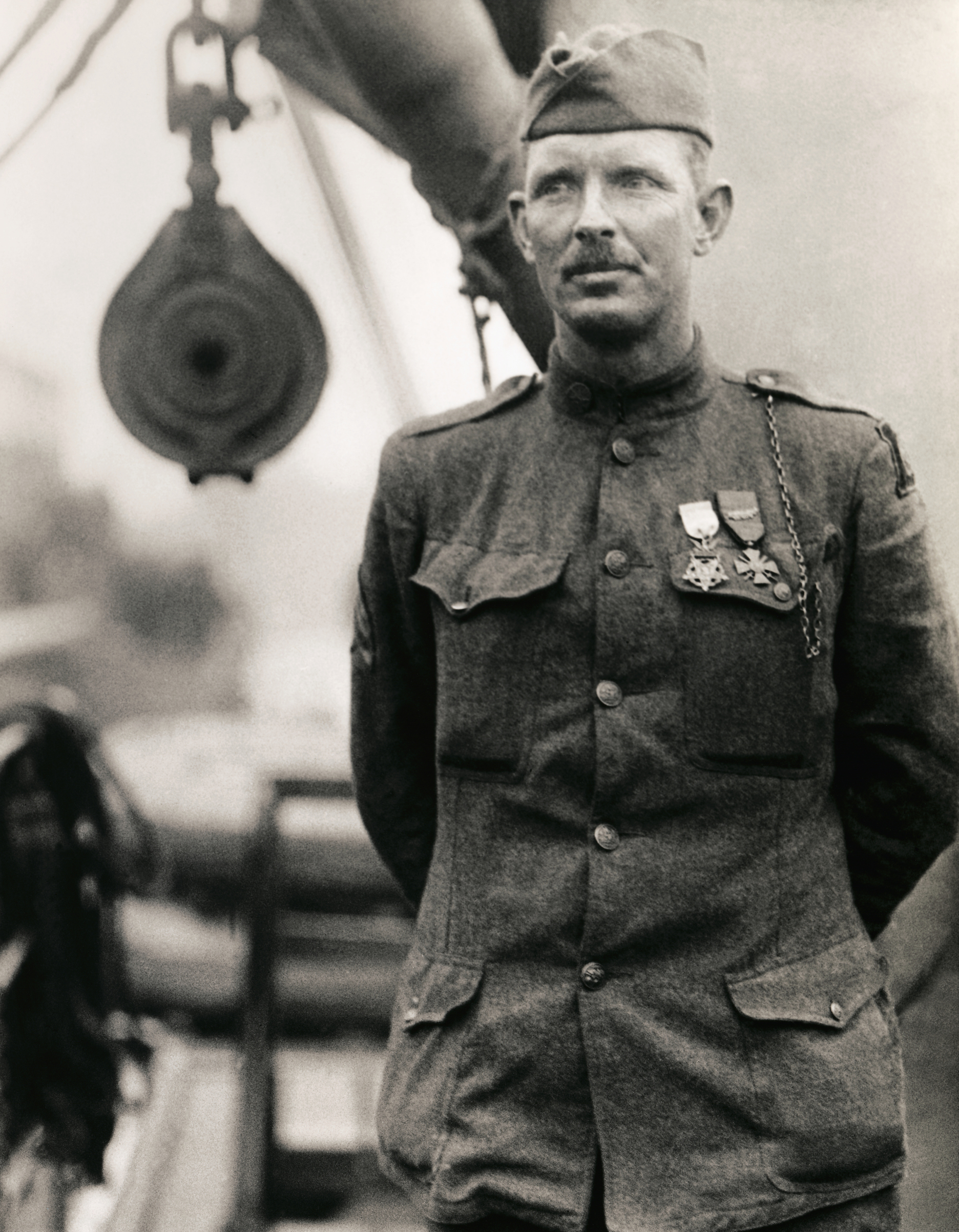 An undated photo of World War I hero Alvin C. York