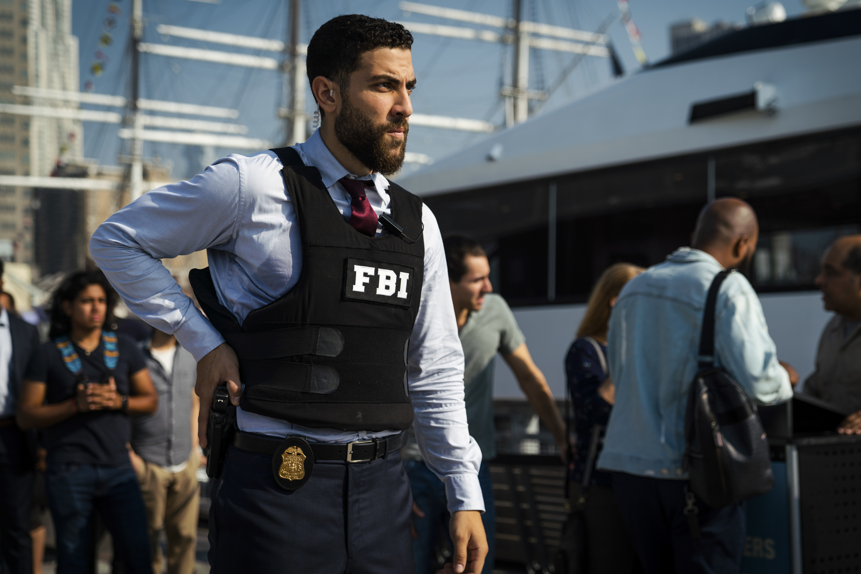 Zeeko Zaki as his character, Special Agent Omar Adom  OA  Zidan, on the CBS show FBI.