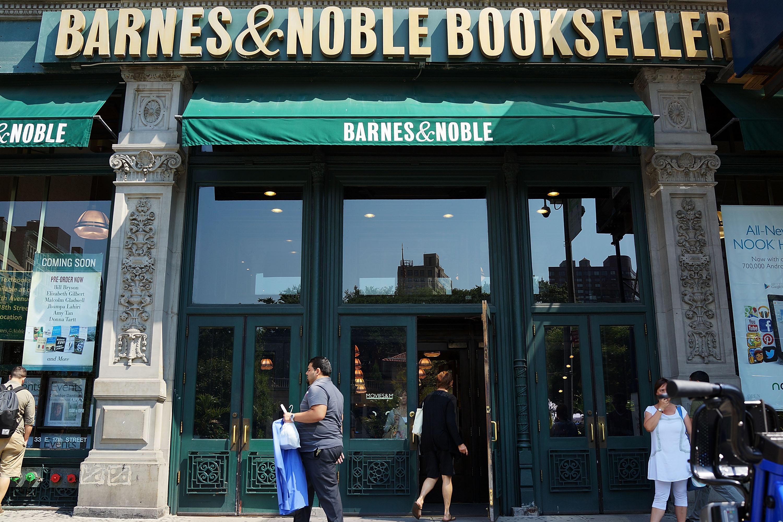 A Barnes & Noble bookstore in New York City.