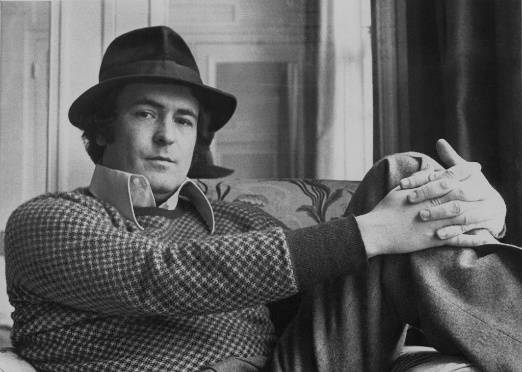 Italian film director Bernardo Bertolucci in London for the premiere of his film 'Last Tango in Paris,' on March 14, 1973. Bertolucci died on Monday at 77 years old.