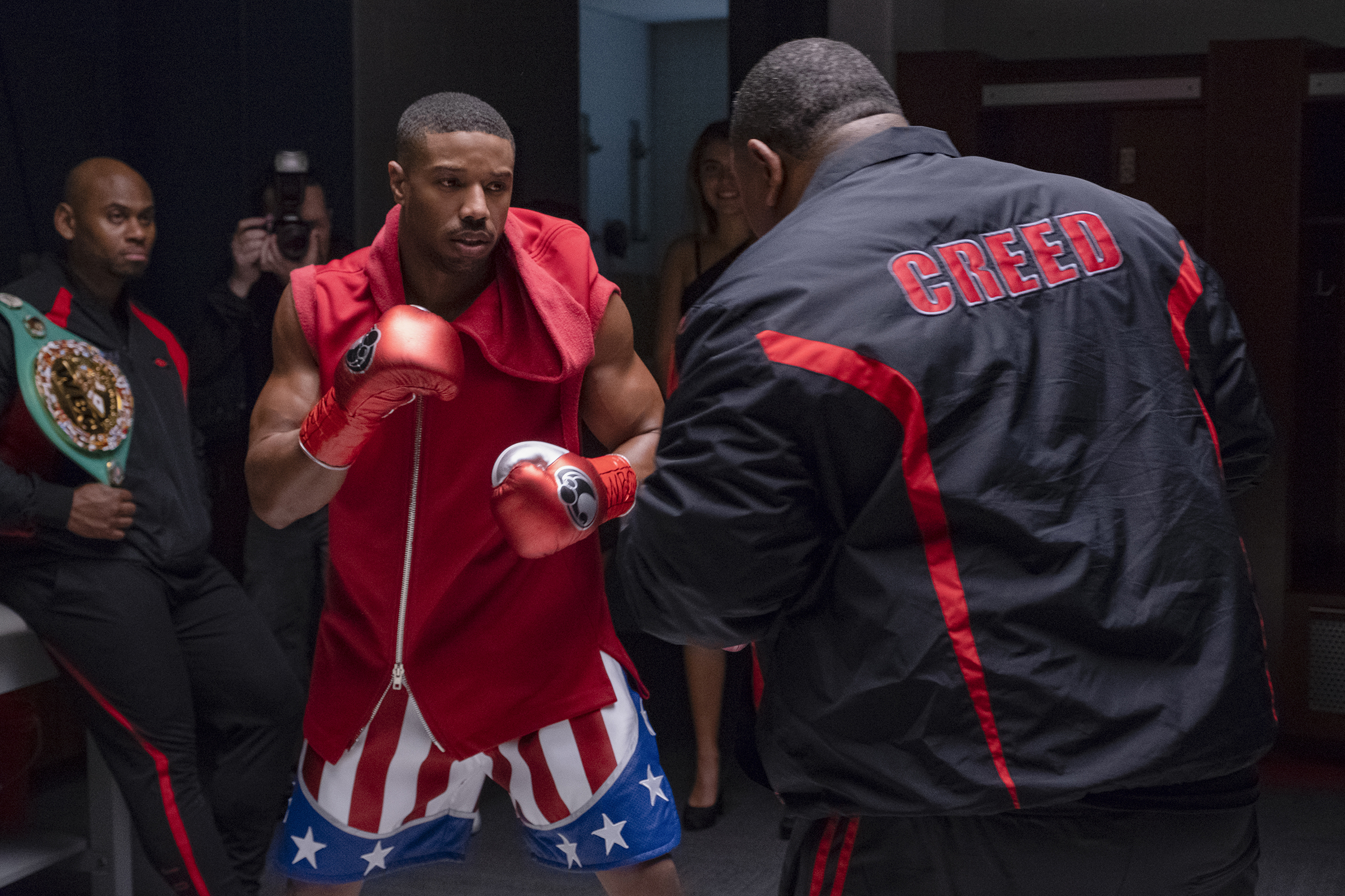 Michael B. Jordan stars as Adonis Creed                      in CREED II