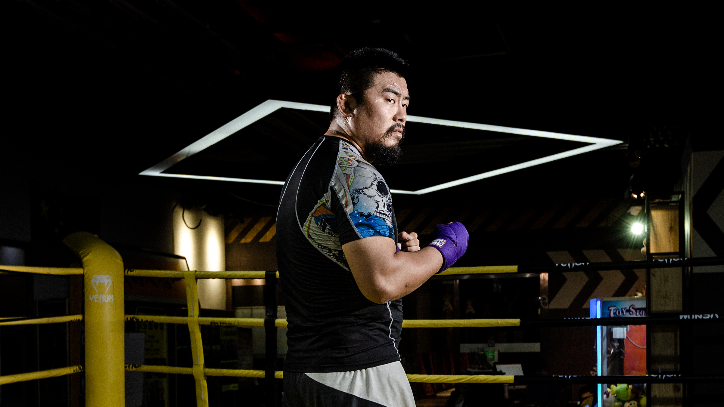 This Chinese Mma Fighter Is Taking On Kung Fu Grandmasters Time