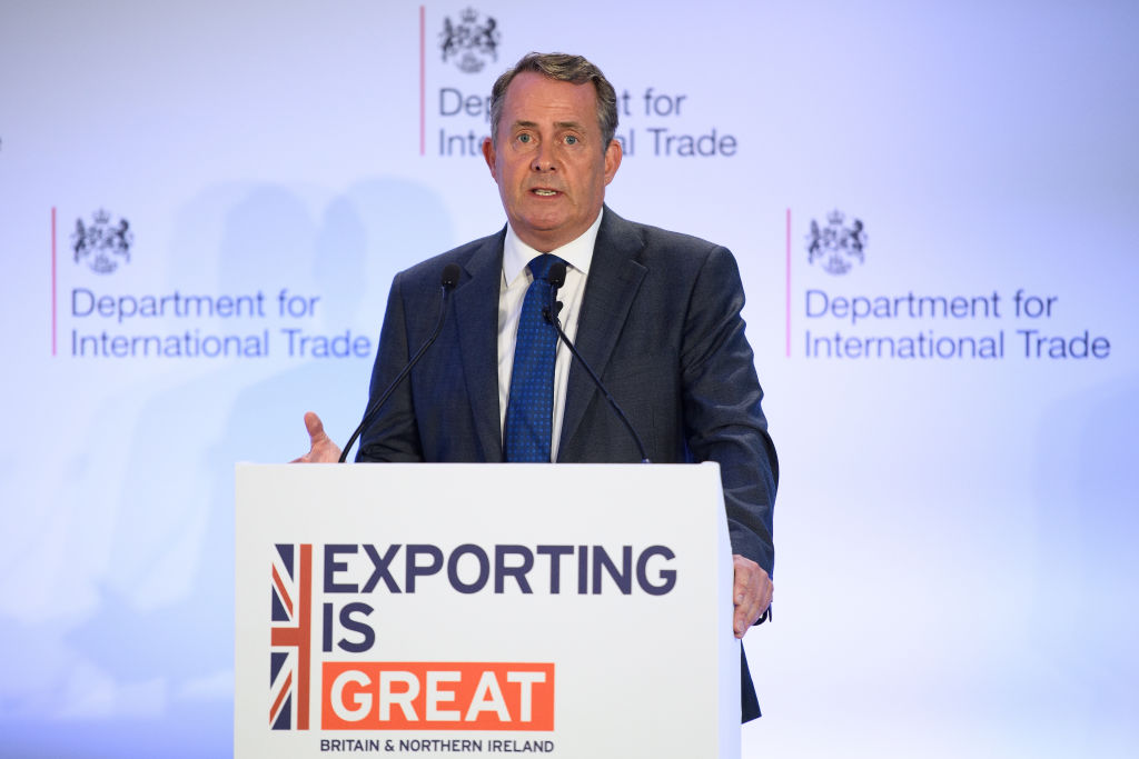 AUG. 21: U.K. International Trade Secretary Liam Fox delivers a speech on the future of exports from the U.K. after Brexit
