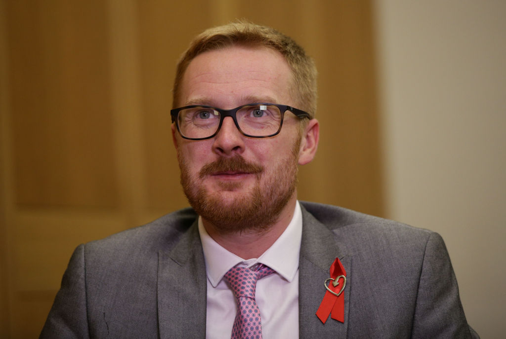 Lloyd Russell-Moyle, the U.K. lawmaker who publicly declared he was HIV positive on Thursday