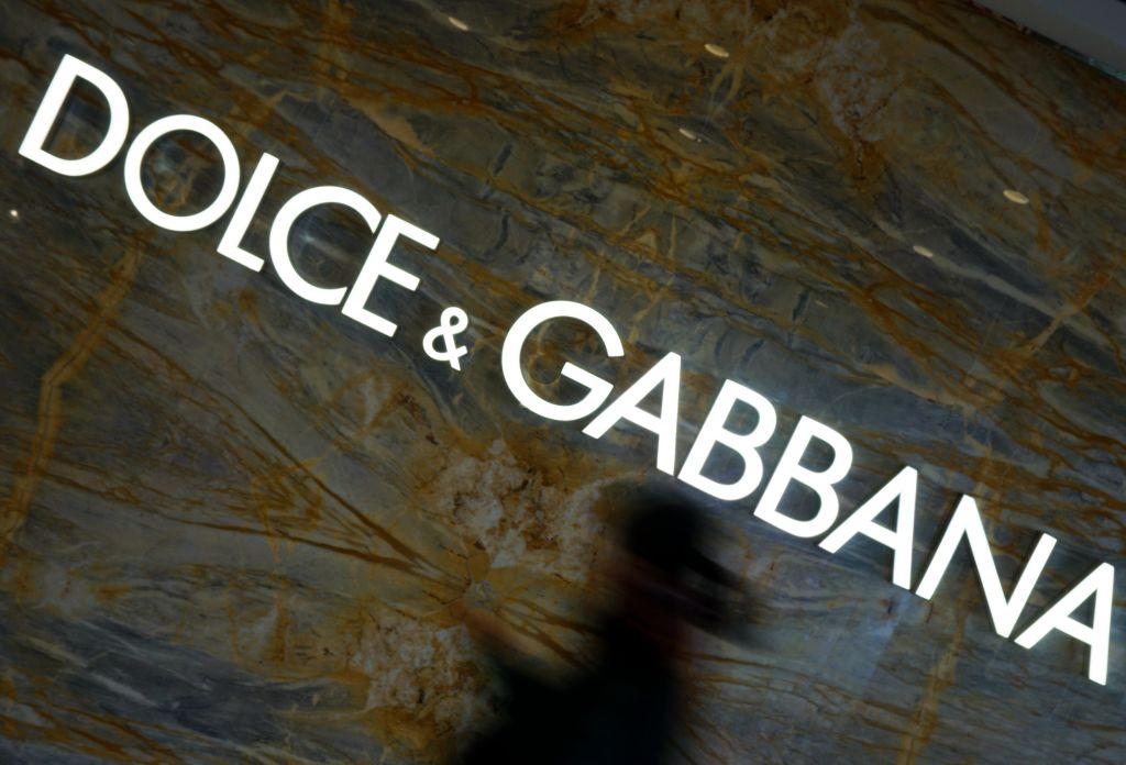 Dolce & Gabbana's logo is seen at a Dolce & Gabbana store on November 22, 2018 in Hangzhou, Zhejiang Province of China.