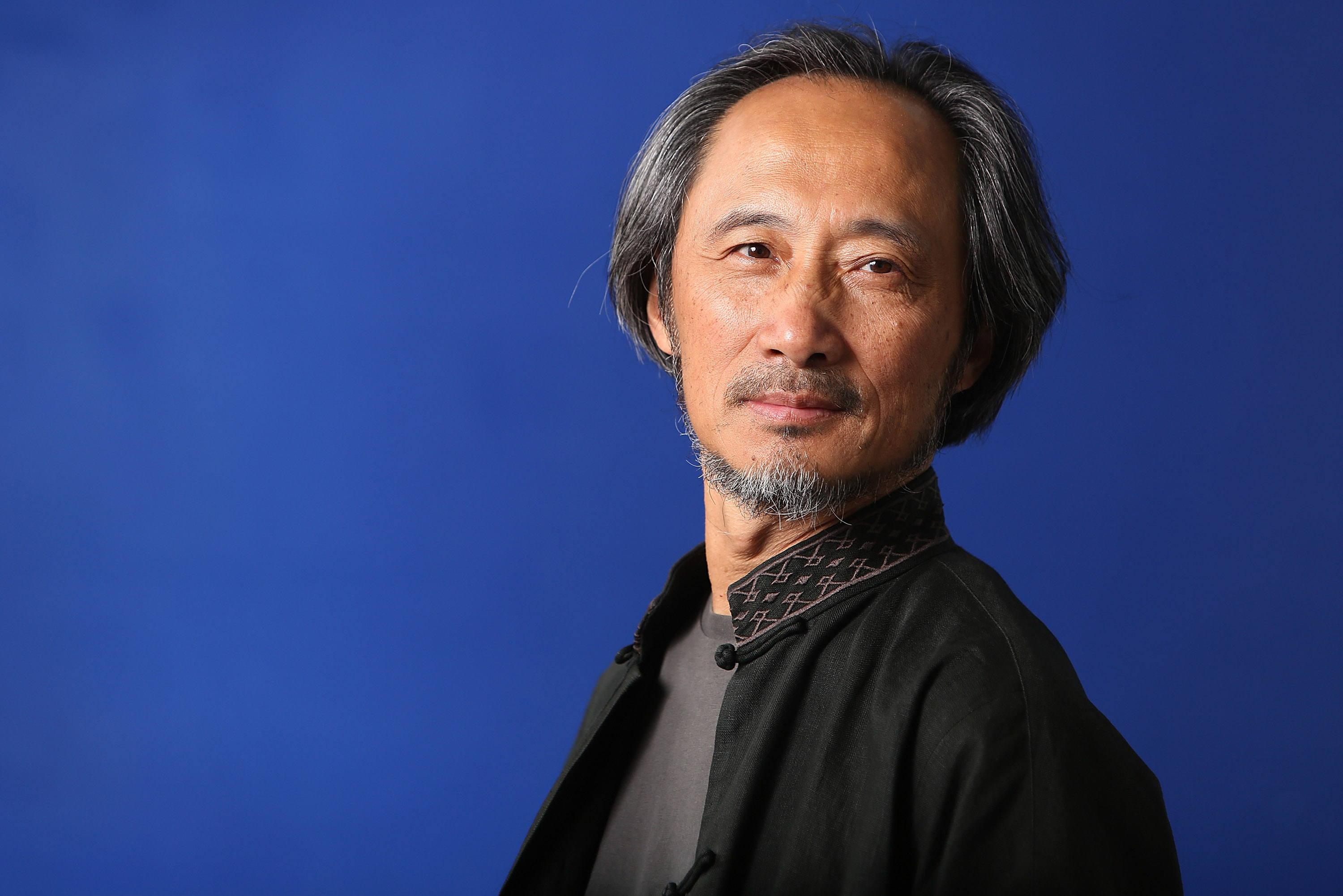 Ma Jian, Chinese-born author, and critic of the Chinese government, attends the 30th Edinburgh International Book Festival in Edinburgh, Scotland on on Aug. 12, 2013.